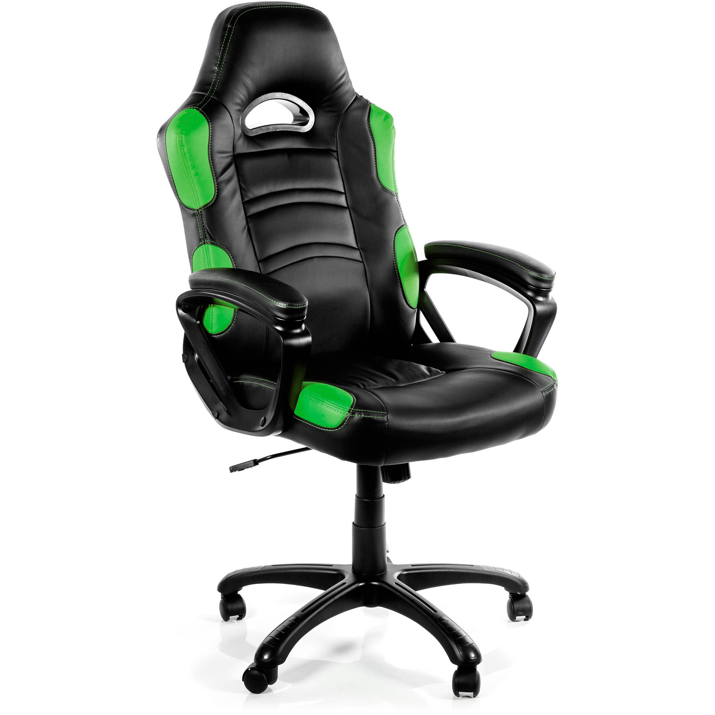 Arozzi Enzo Gaming Chair Green ENZO GN B&H Video