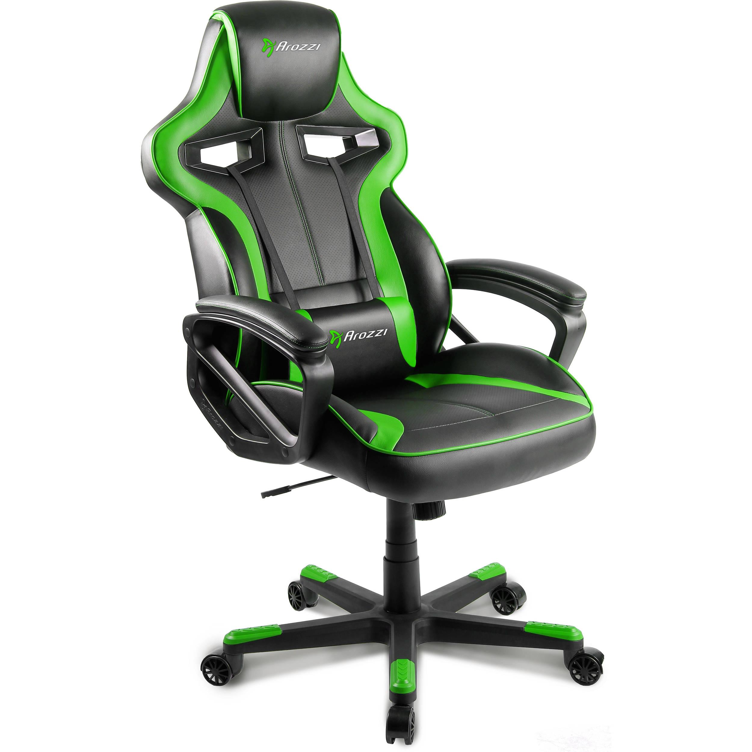 Arozzi Milano Gaming Chair Green MILANO GN B&H Video