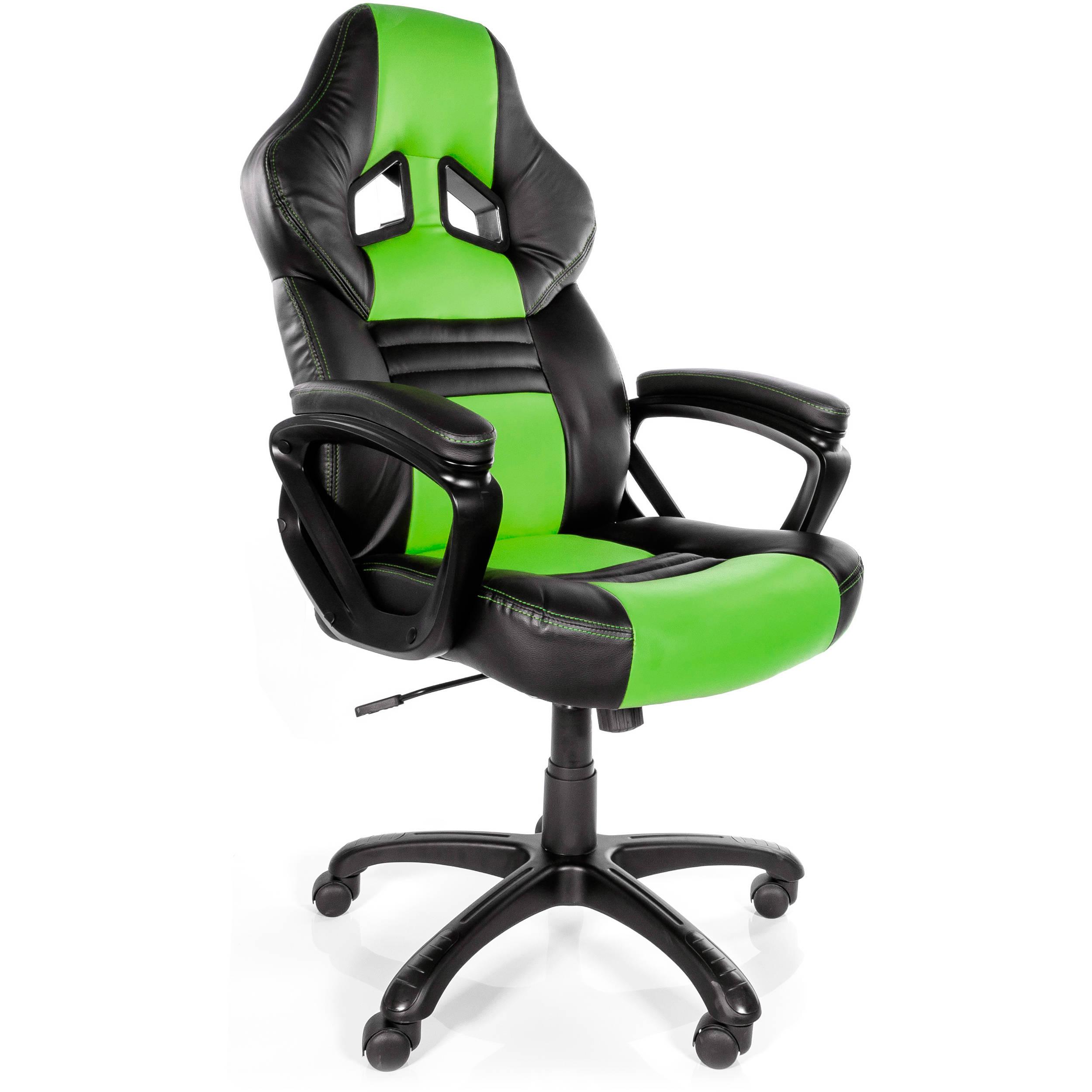 Arozzi Monza Gaming Chair Green MONZA GN B&H Video