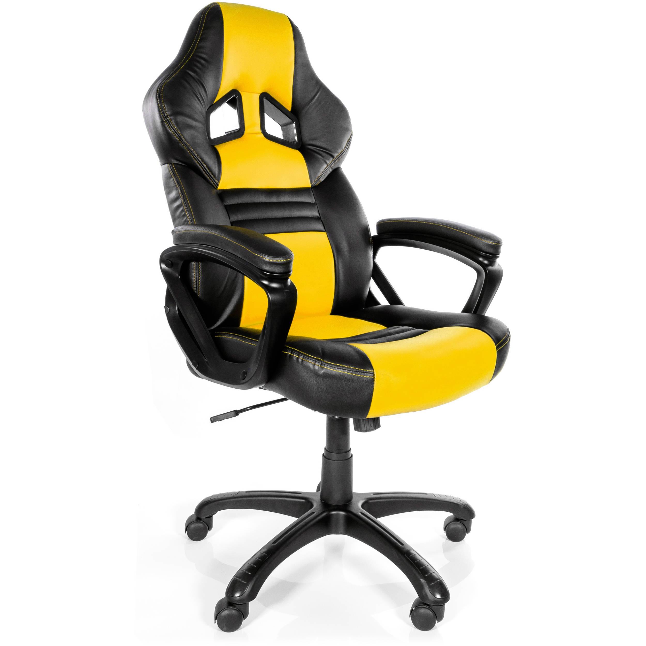 Arozzi Monza Gaming Chair Yellow MONZA YL B&H Video