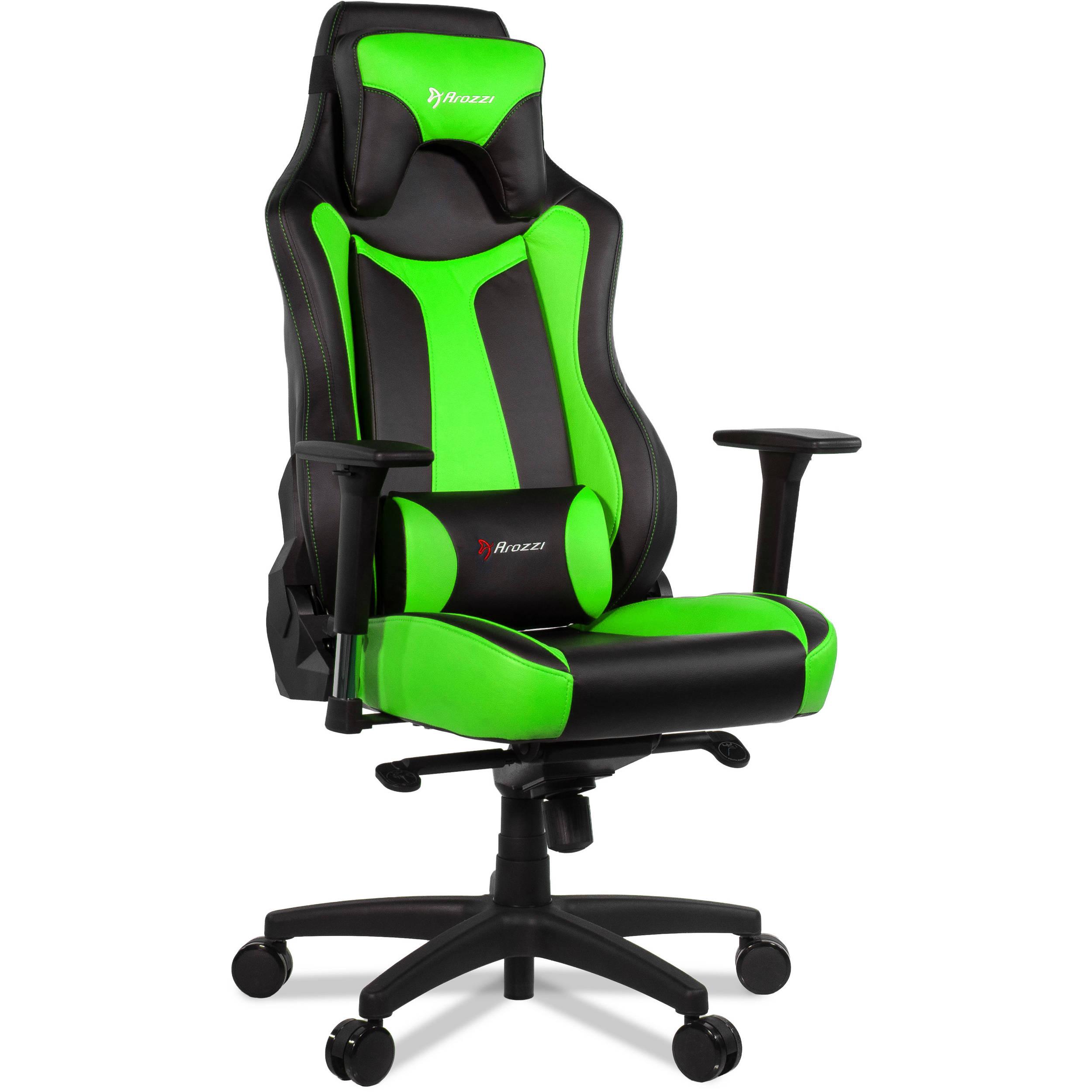 Arozzi Vernazza Gaming Chair Green VERNAZZA GN B&H Video
