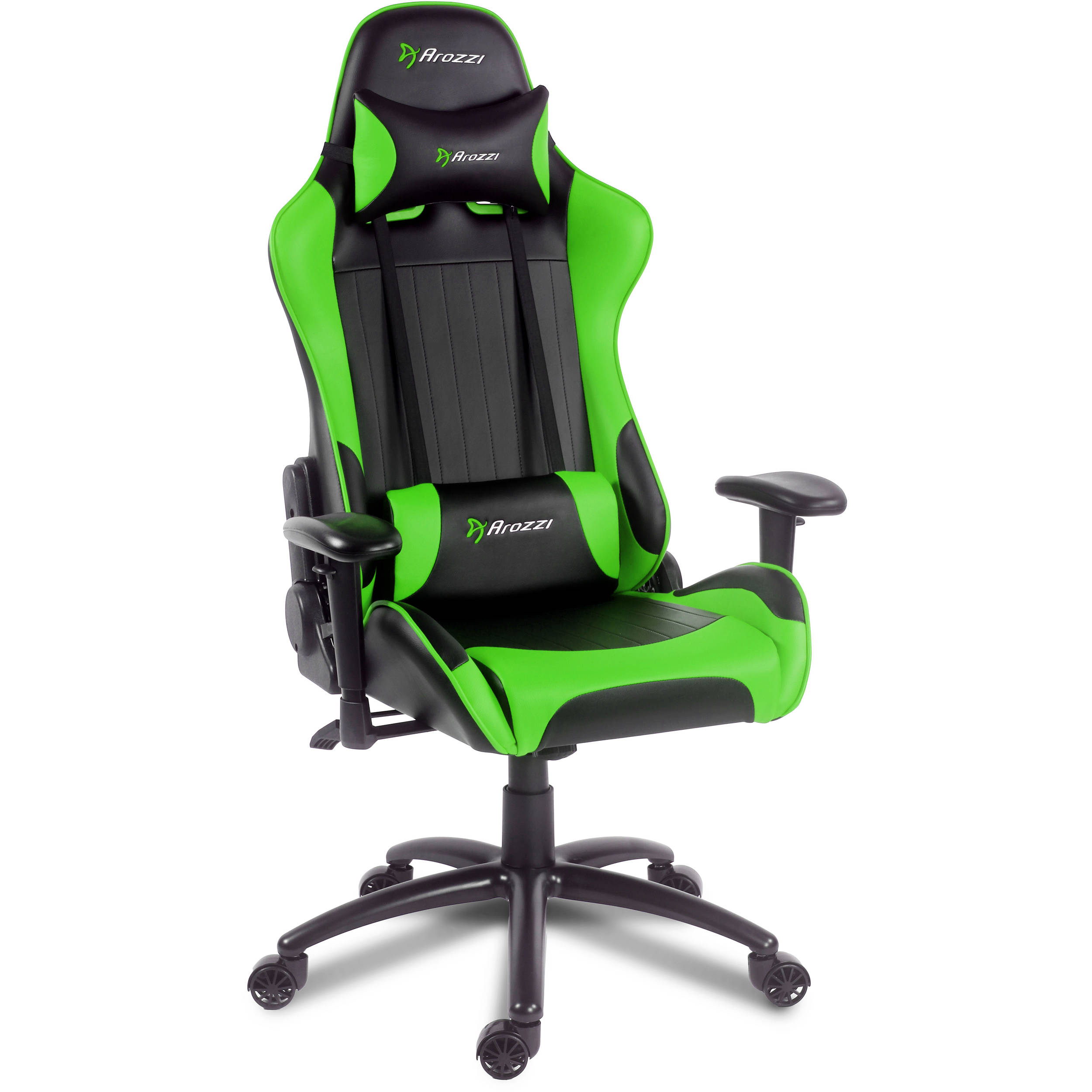 Enjoyable Arozzi Verona Gaming Chair Green Verona Gn Inzonedesignstudio Interior Chair Design Inzonedesignstudiocom