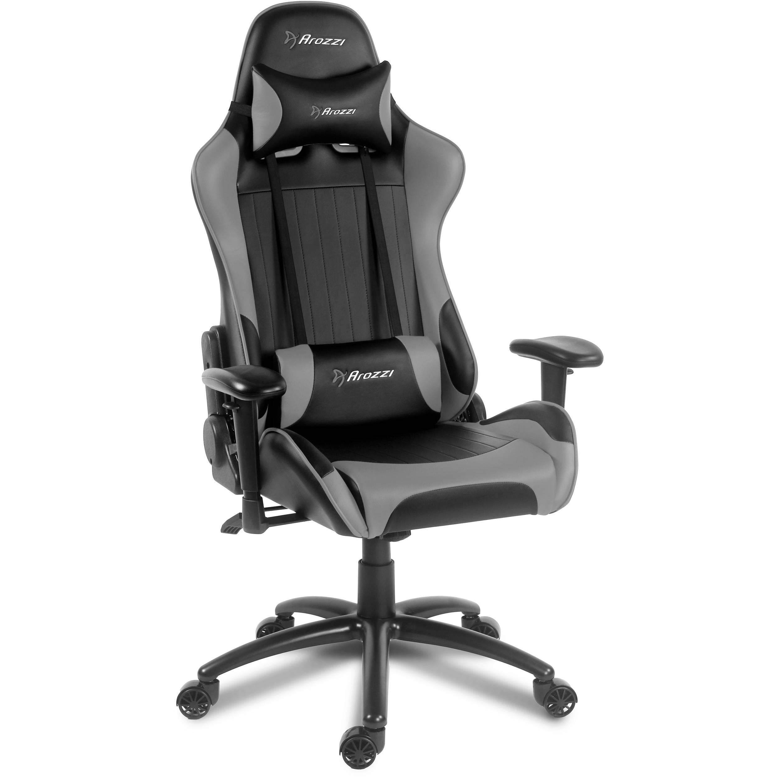 Arozzi Verona Gaming Chair Gray Verona Gy B Amp H Photo Video