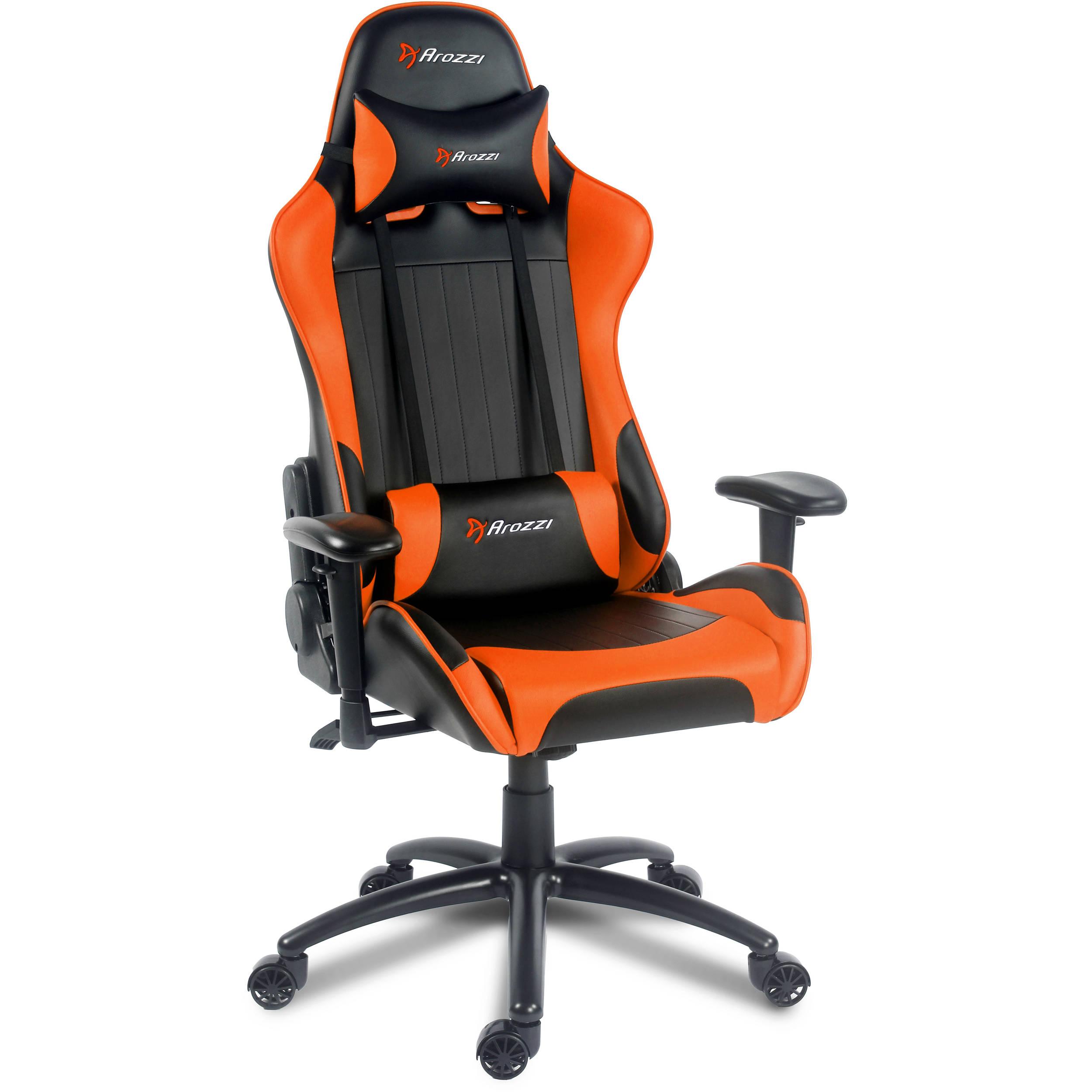 Arozzi Verona Gaming Chair Orange Verona Or B Amp H Photo Video