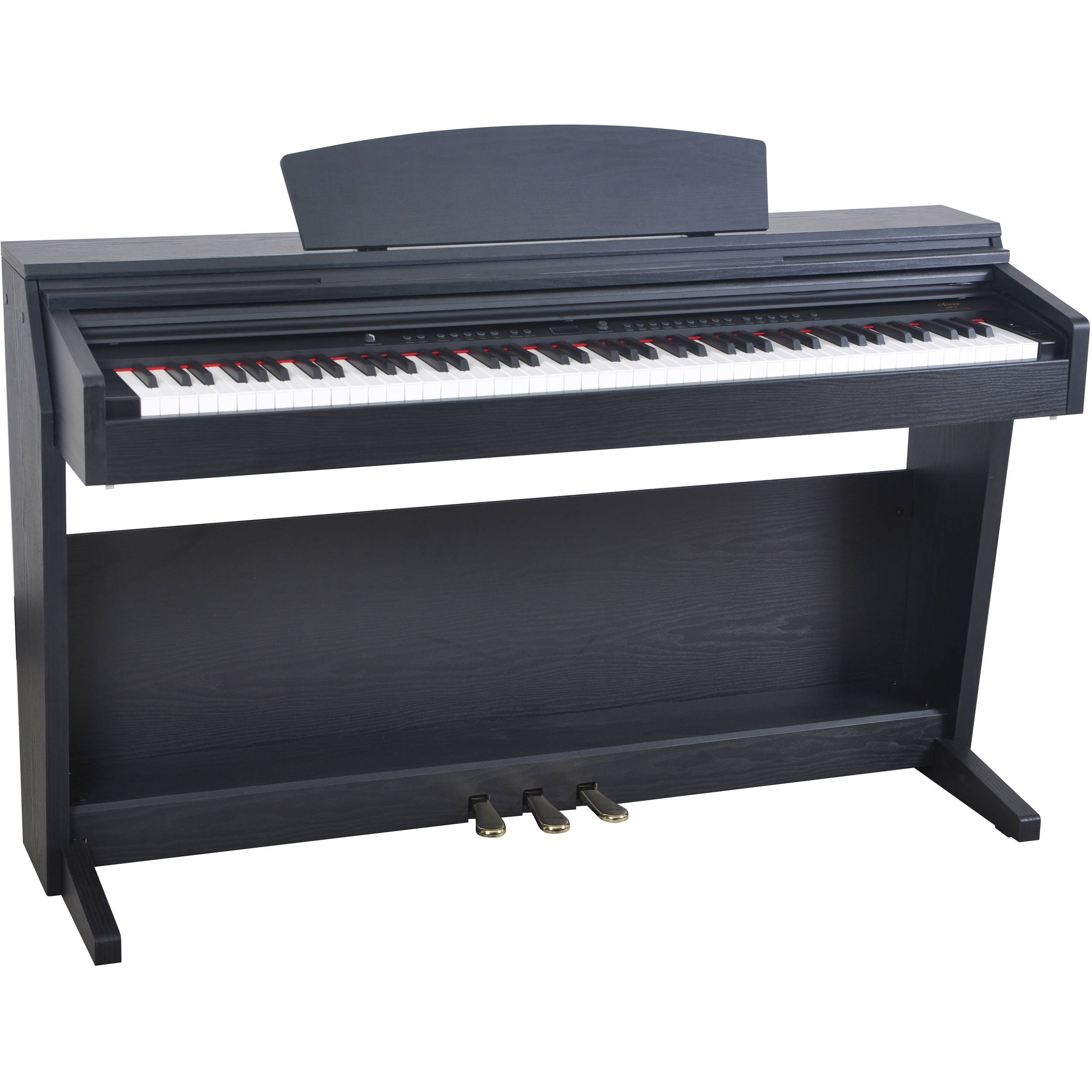 artesia dp 7 deluxe digital upright piano rosewood dp 7 rsw. Black Bedroom Furniture Sets. Home Design Ideas