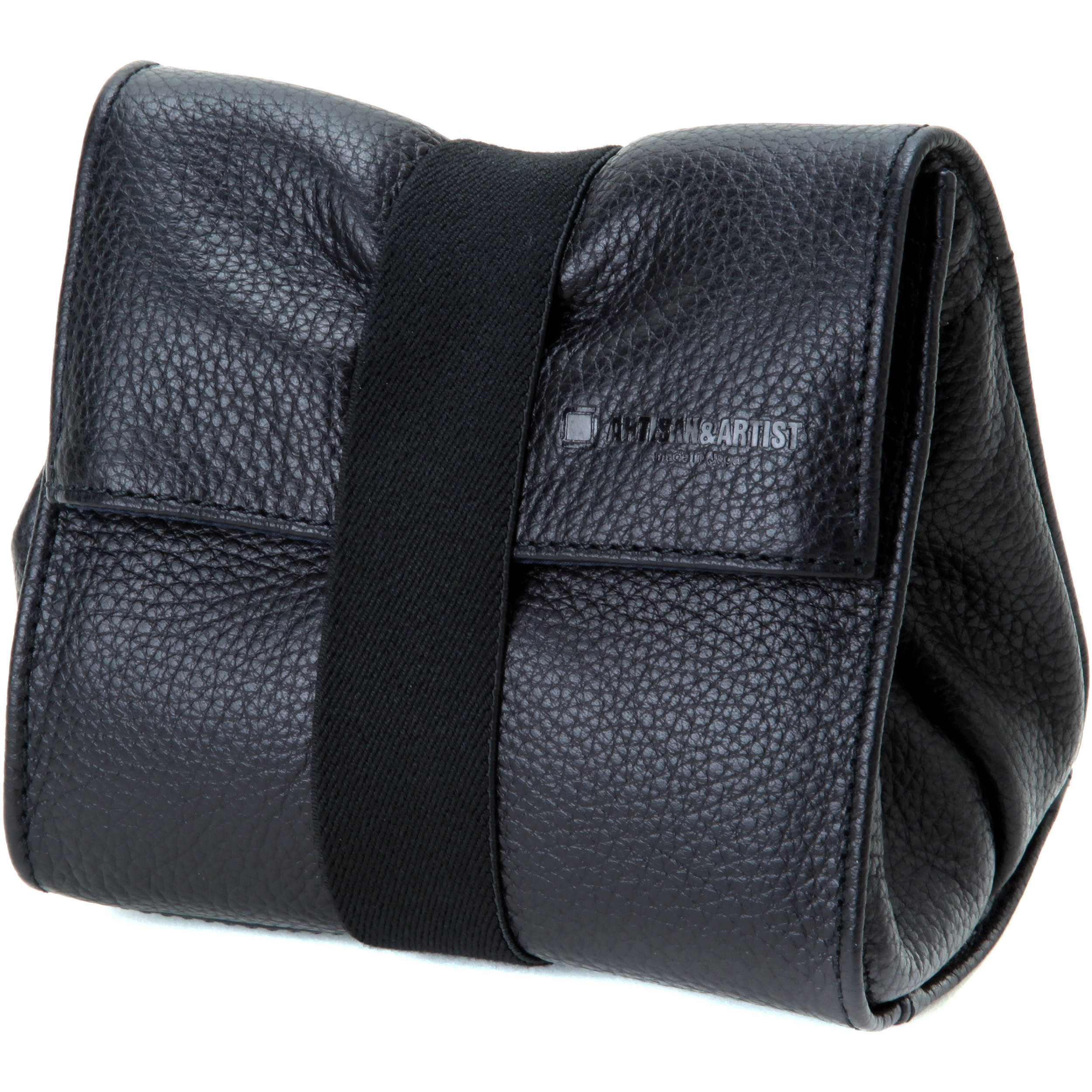 e57abc10d9eb Artisan   Artist ACAM-77 Soft Leather Pouch (Black) ACAM77BLK