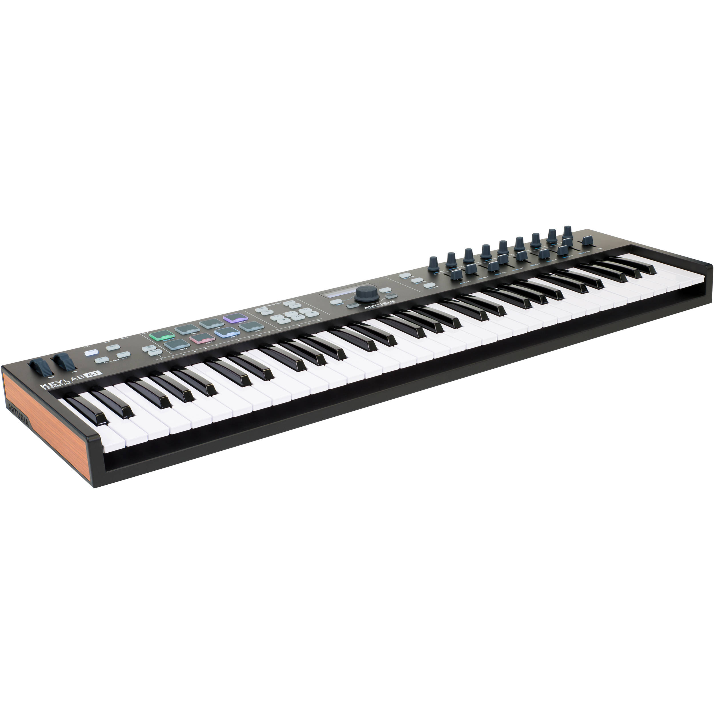 arturia keylab essential 61 universal midi controller 230532. Black Bedroom Furniture Sets. Home Design Ideas