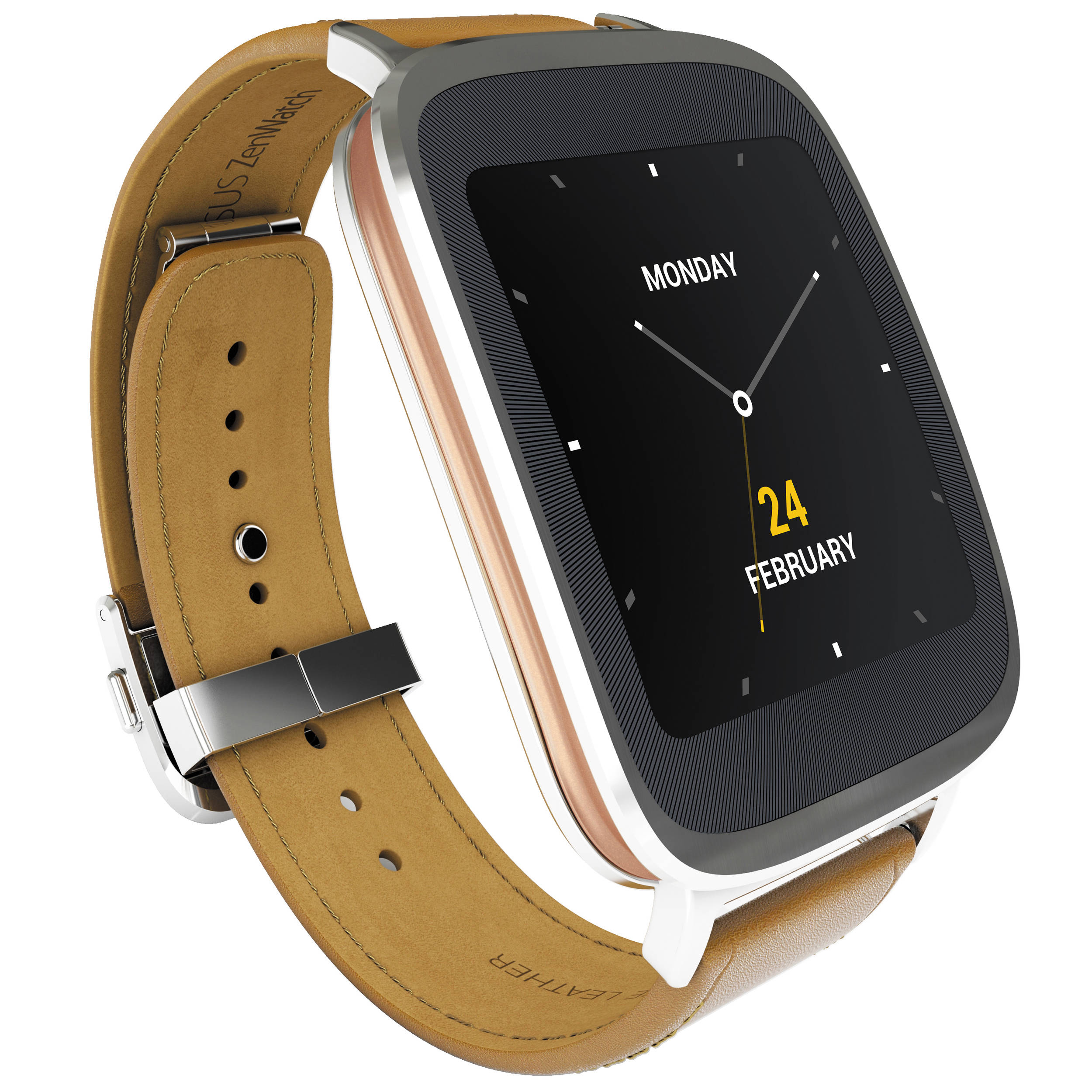 ASUS ZenWatch Android Wear Smartwatch 90NZ0011-M00090 B&H ...