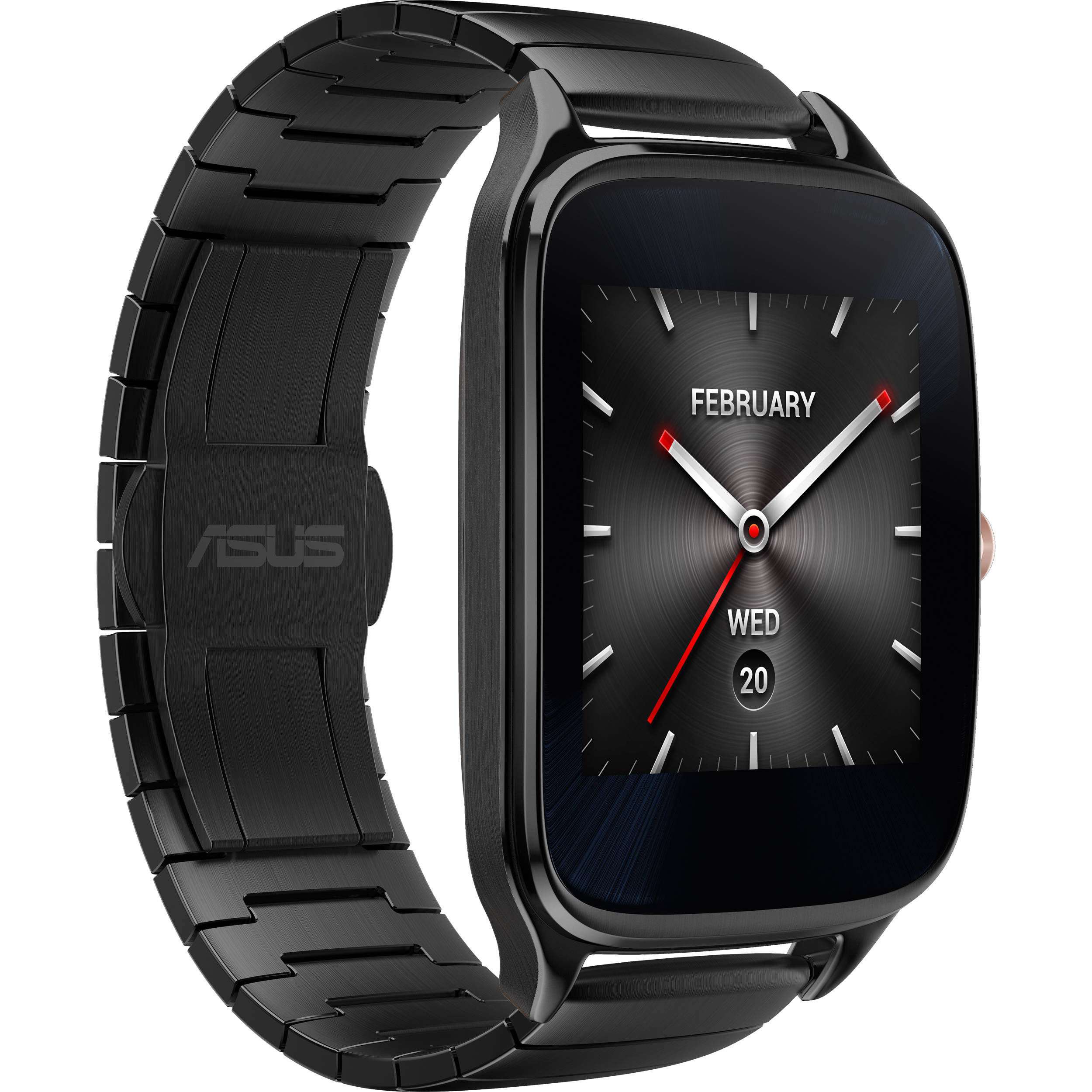 ASUS ZenWatch 2 Android Wear Smartwatch WI501Q-GM-GR B&H Photo