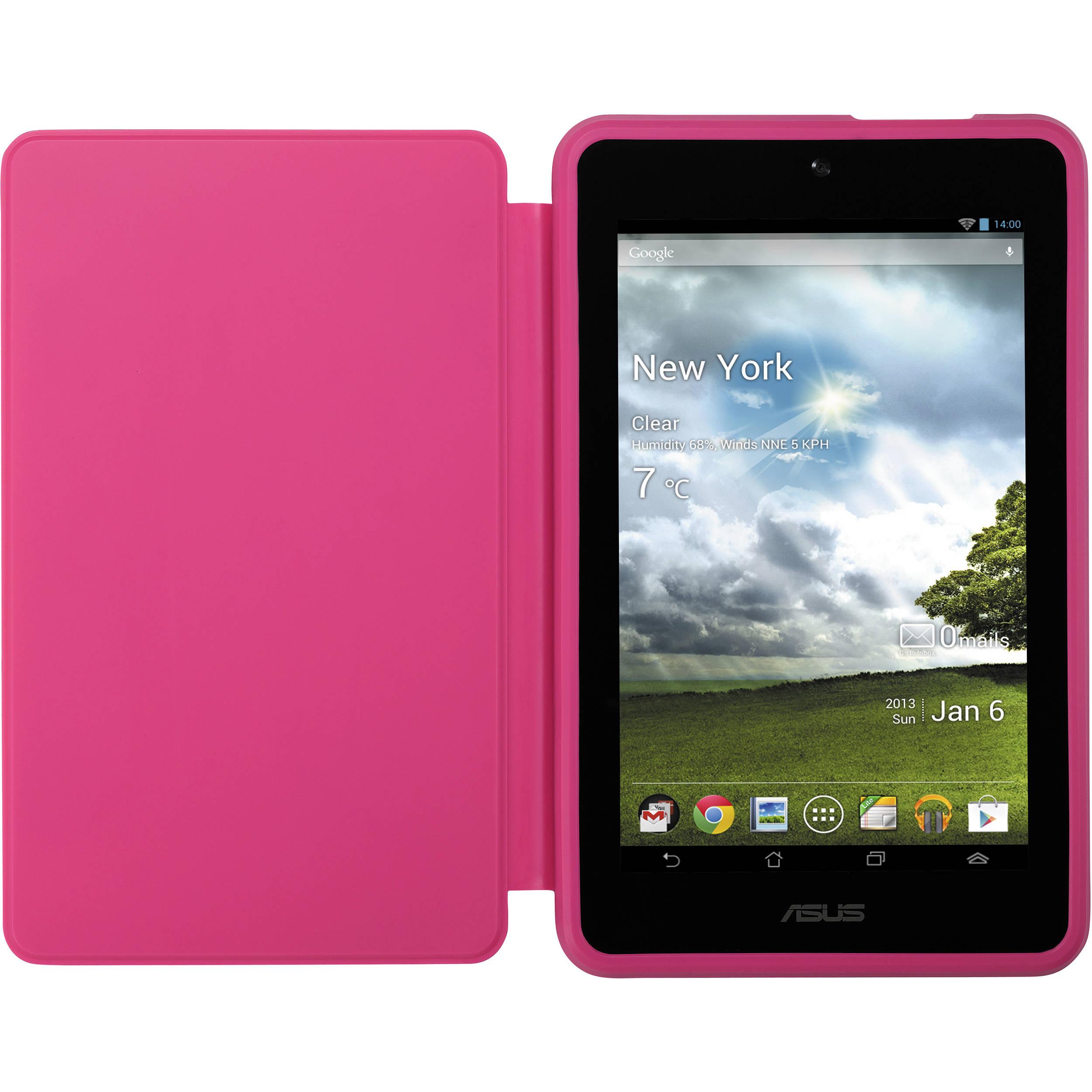 ASUS MeMO Pad HD 7 Persona Cover (Pink) 90XB015P-BSL010 B&H