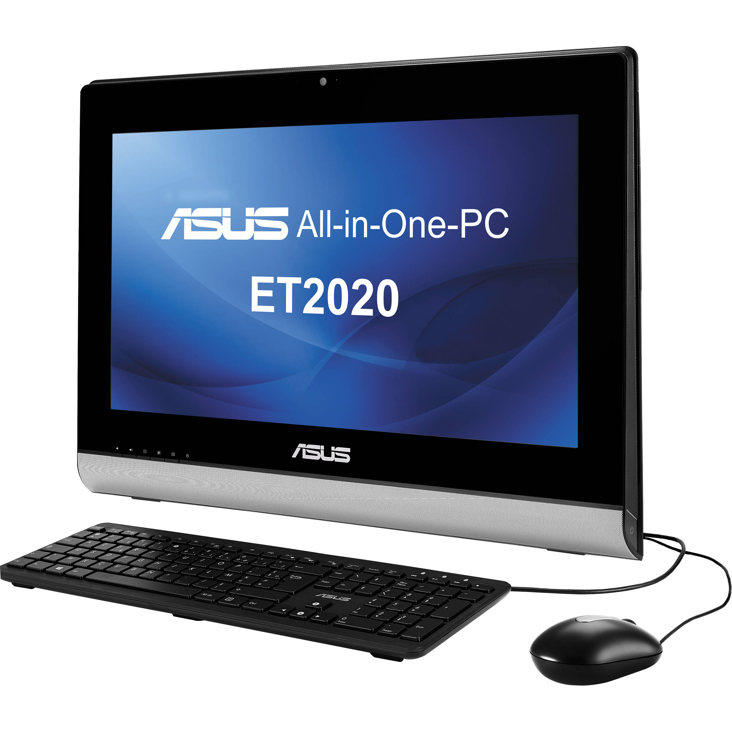 Cheap desktop computer - Asus Et2020iuki 01 19 5 All In One Desktop Computer Black