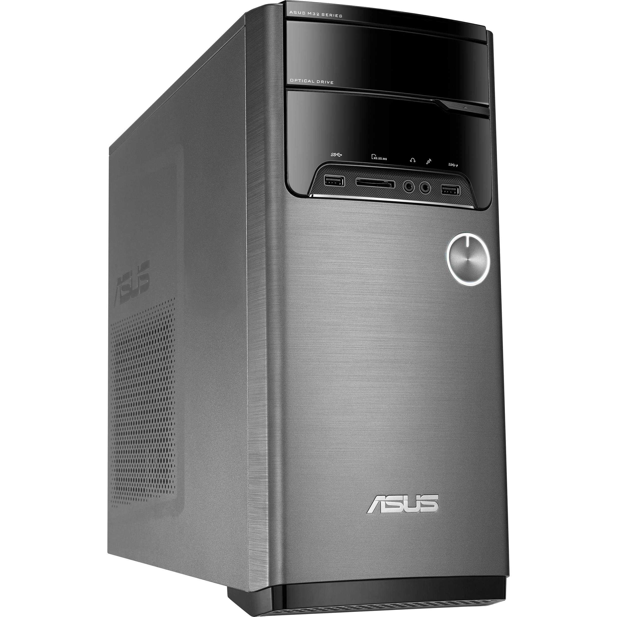 Asus M32ad Us032s Desktop Computer M32ad Us032s B Amp H Photo