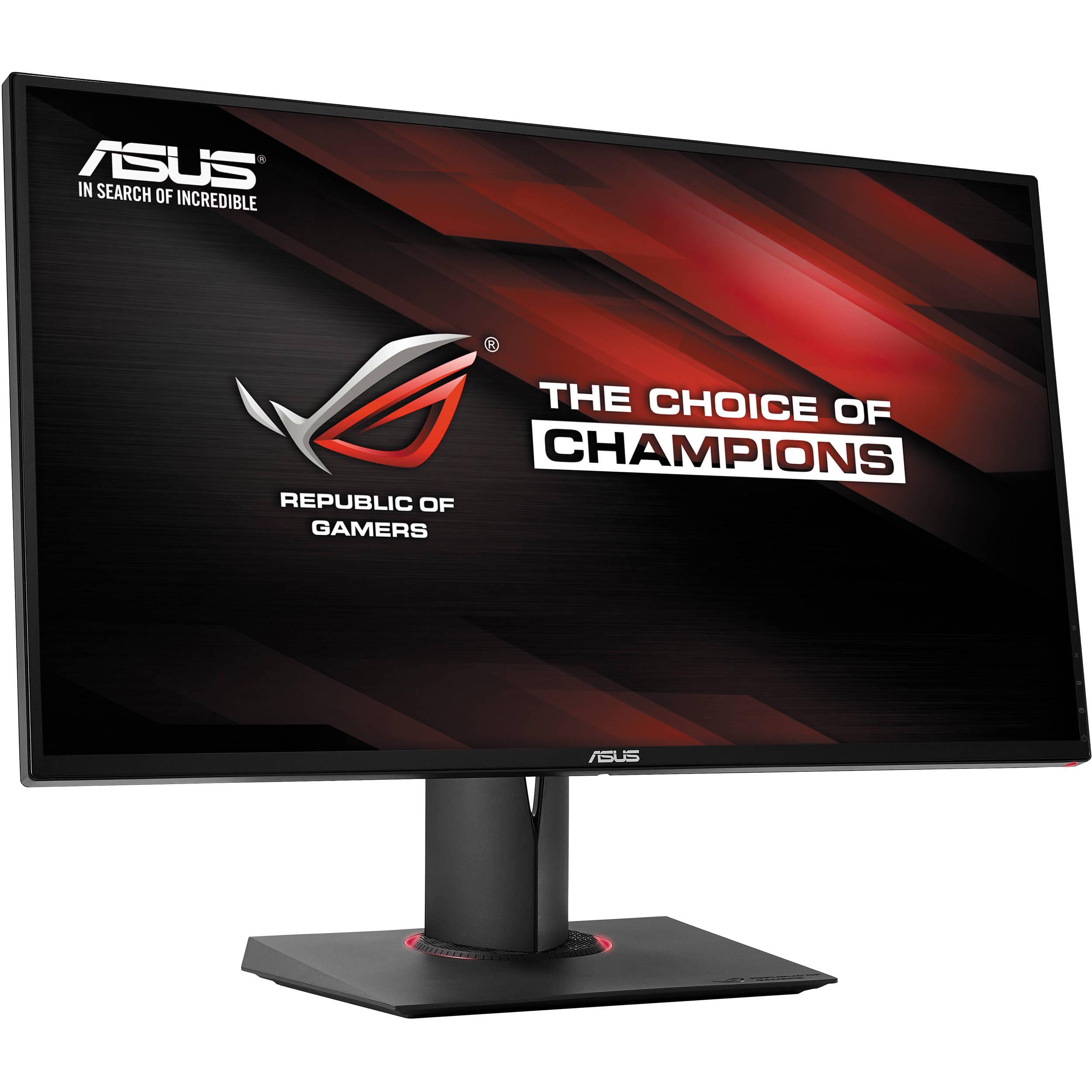 asus republic of gamers pg278q 27 u0026quot  widescreen led pg278q