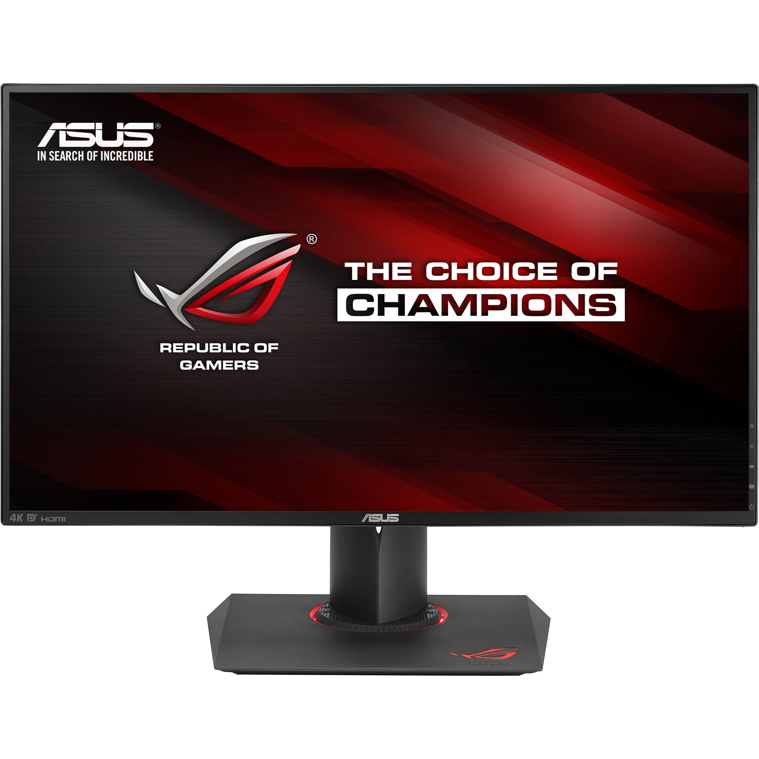 Asus pg27aq 27 16 9 republic of gamers swift 4k uhd pg27aq for Ecran ips 27