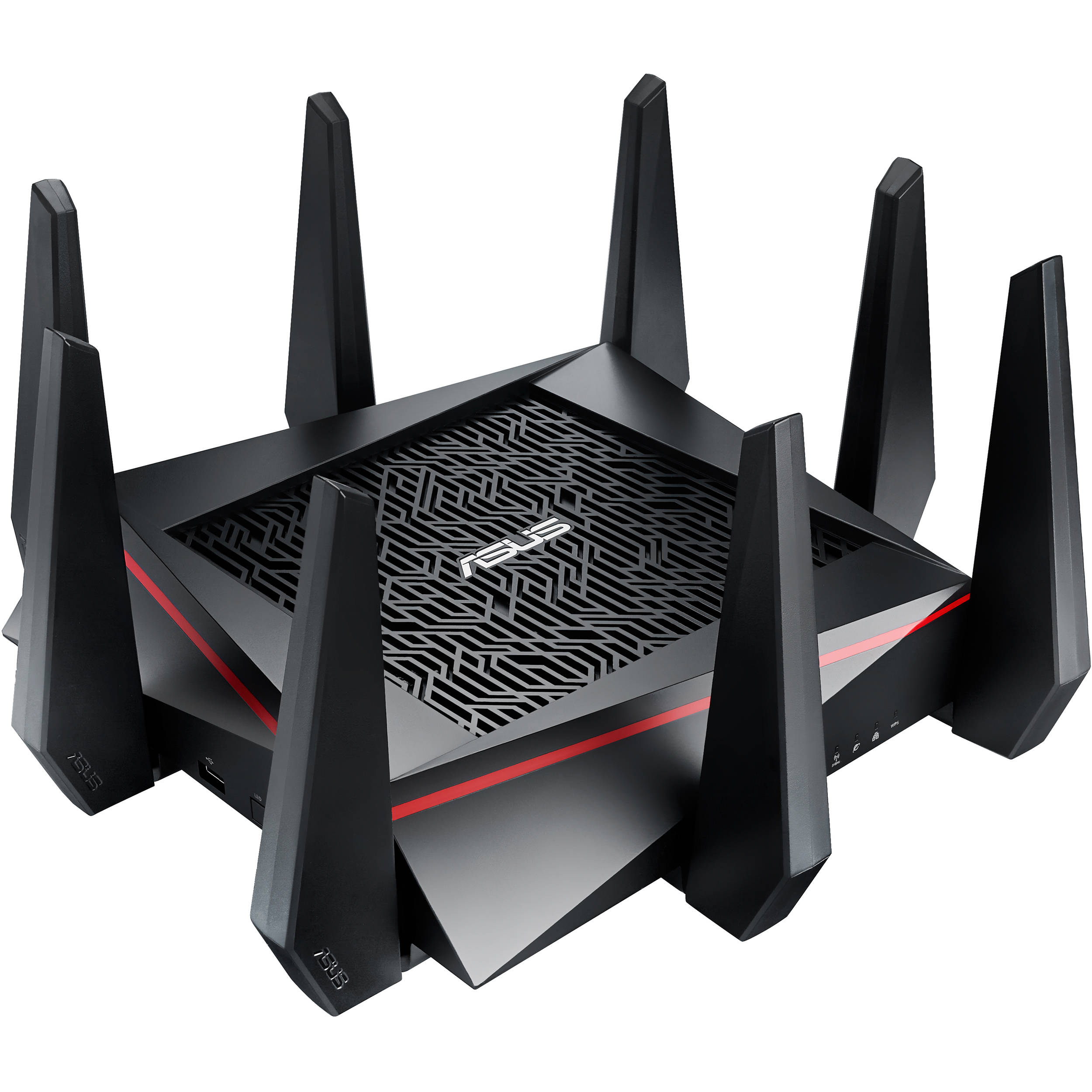 Asus Rt Ac5300 Tri Band Wireless Ac5300 Gigabit Router Rt