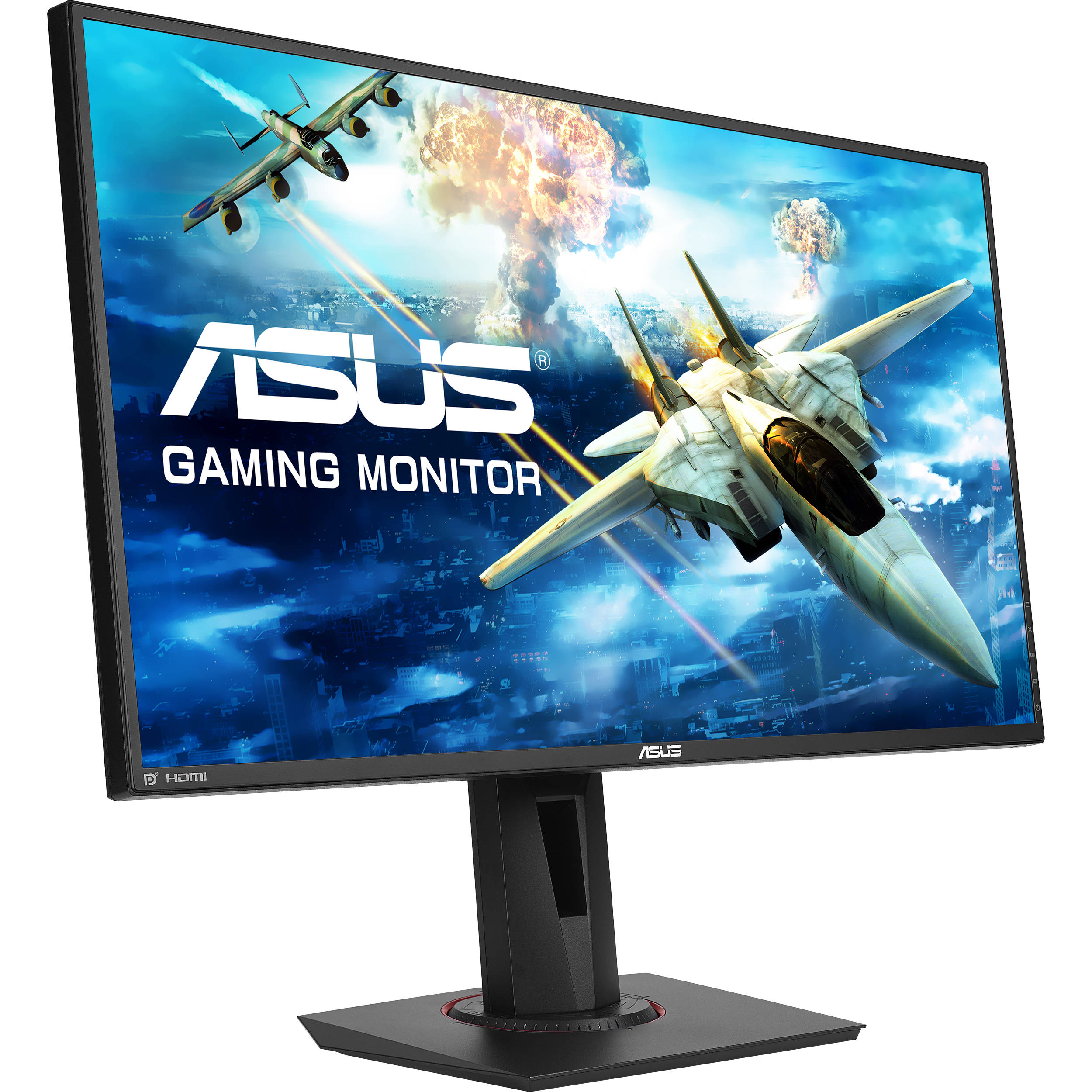 asus vg278q 27 16 9 144 hz freesync lcd monitor vg278q b h. Black Bedroom Furniture Sets. Home Design Ideas
