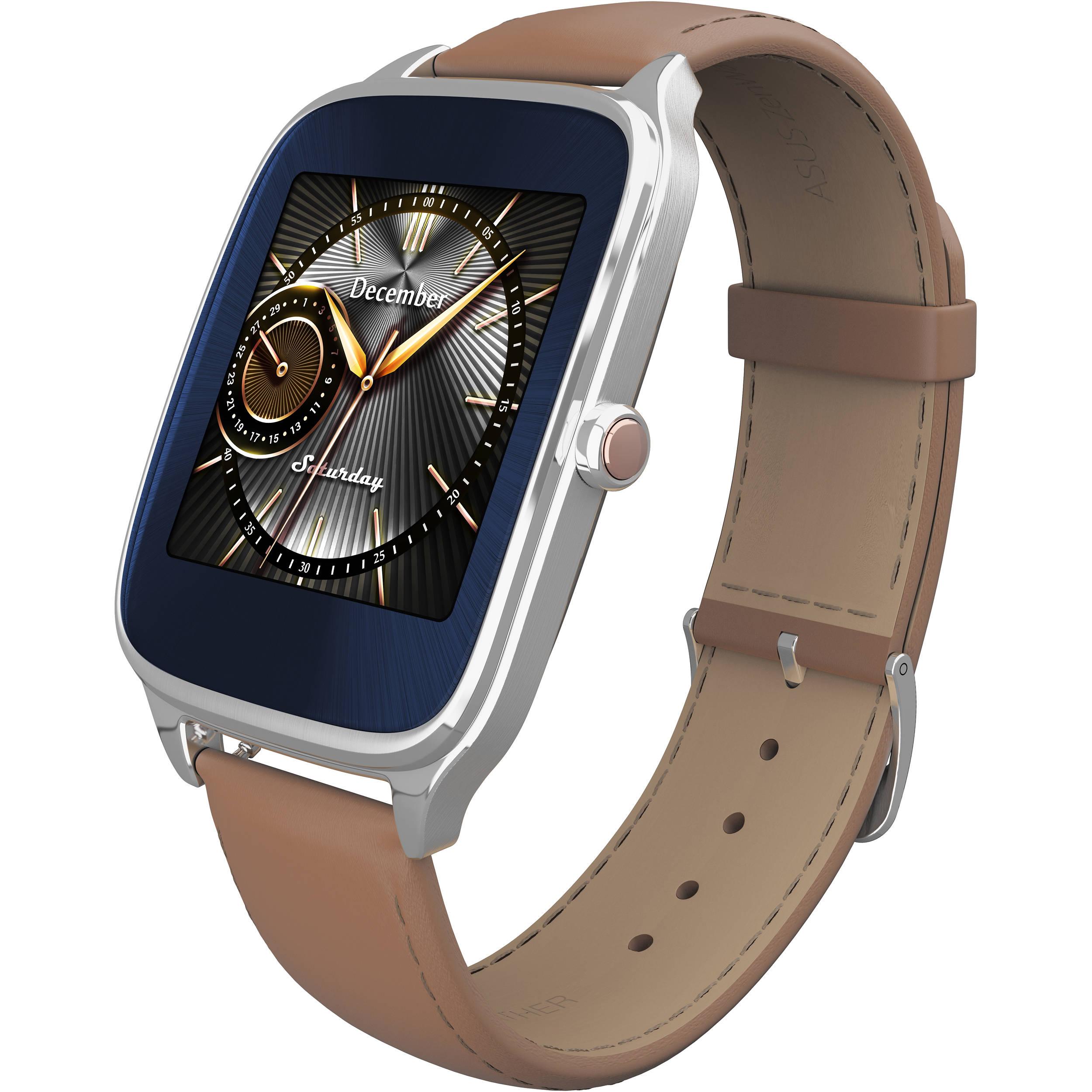 """ASUS ZenWatch 2 1.63"""" Smartwatch WI501Q-SL-CM-Q B&H Photo"""