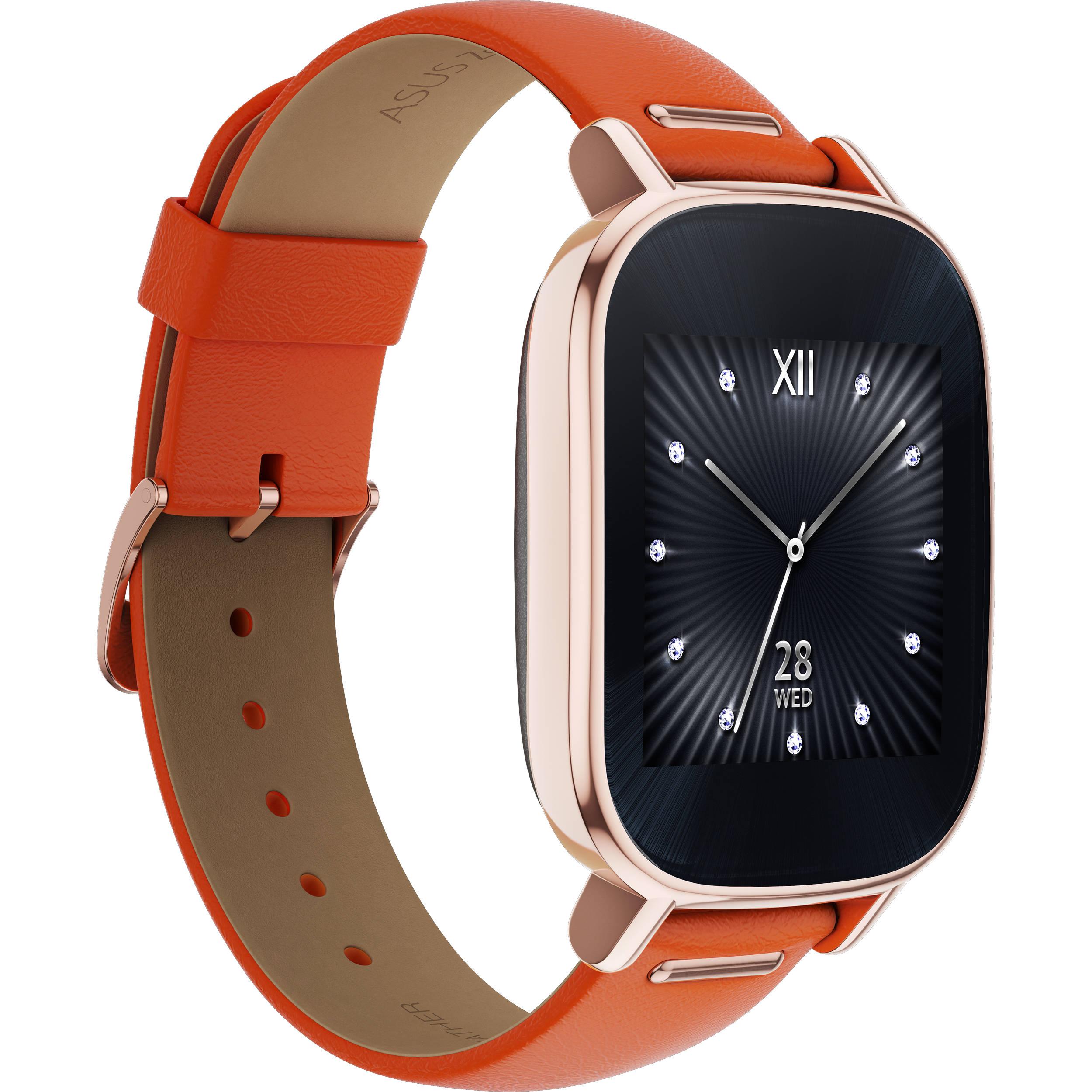 "ASUS ZenWatch 2 1.45"" Smartwatch WI502Q-RL-OG-Q B&H Photo"