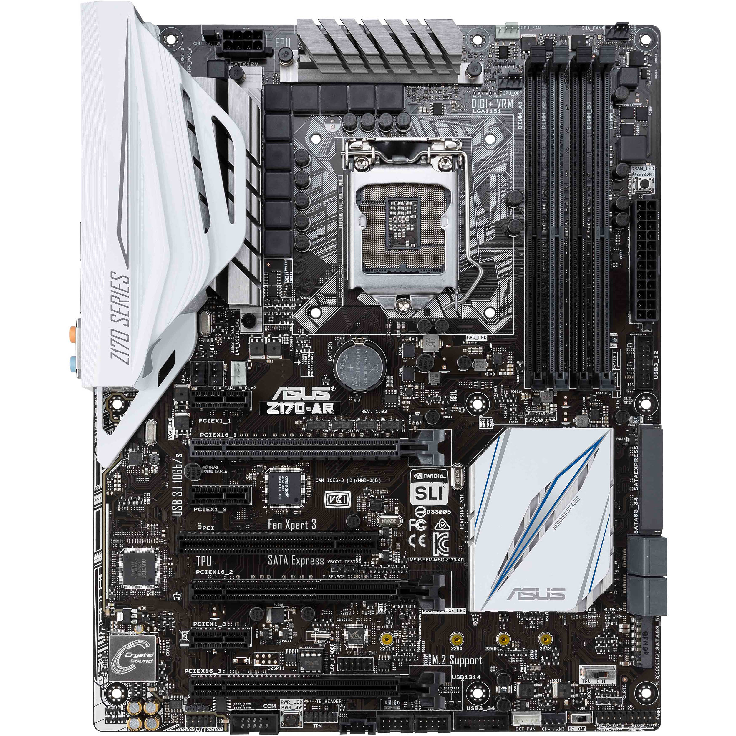 ASUS Z170-AR MOTHERBOARD DRIVER