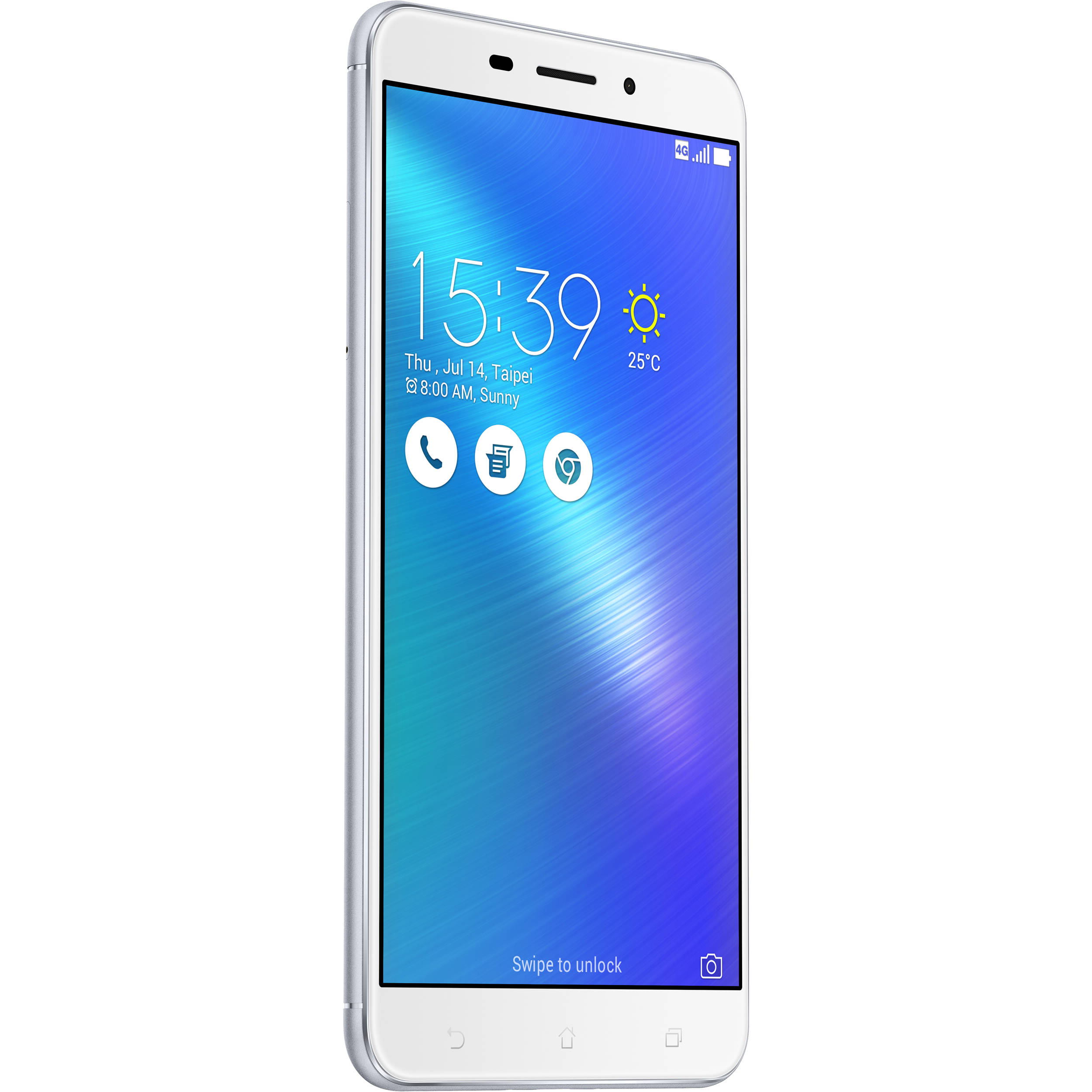 ASUS ZenFone 3 Laser ZC551KL 32GB Smartphone Unlocked Glacier Silver