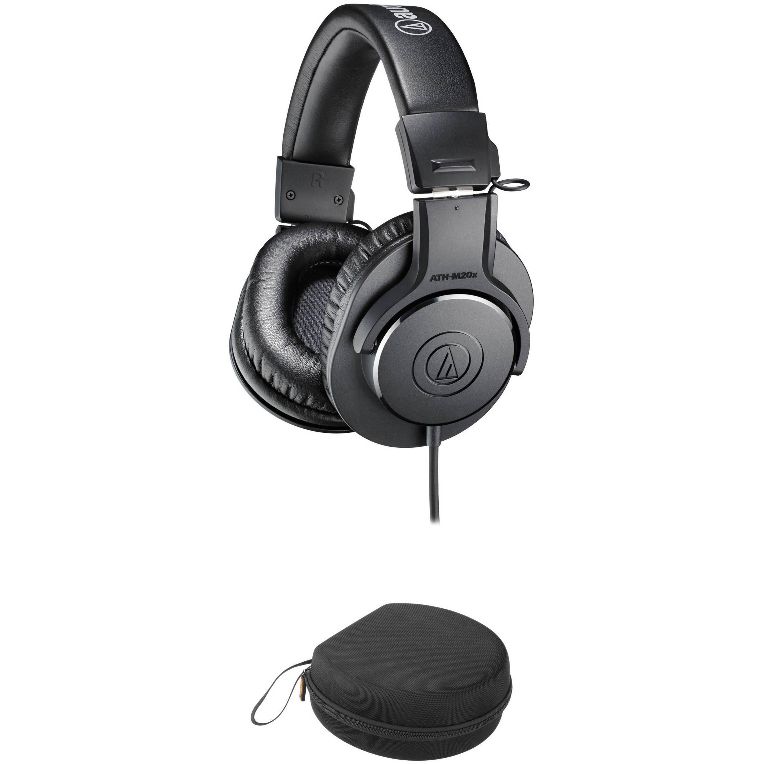eb77c815513 Audio-Technica ATH-M20x Monitor Headphones (Black) ATH-M20X B&H