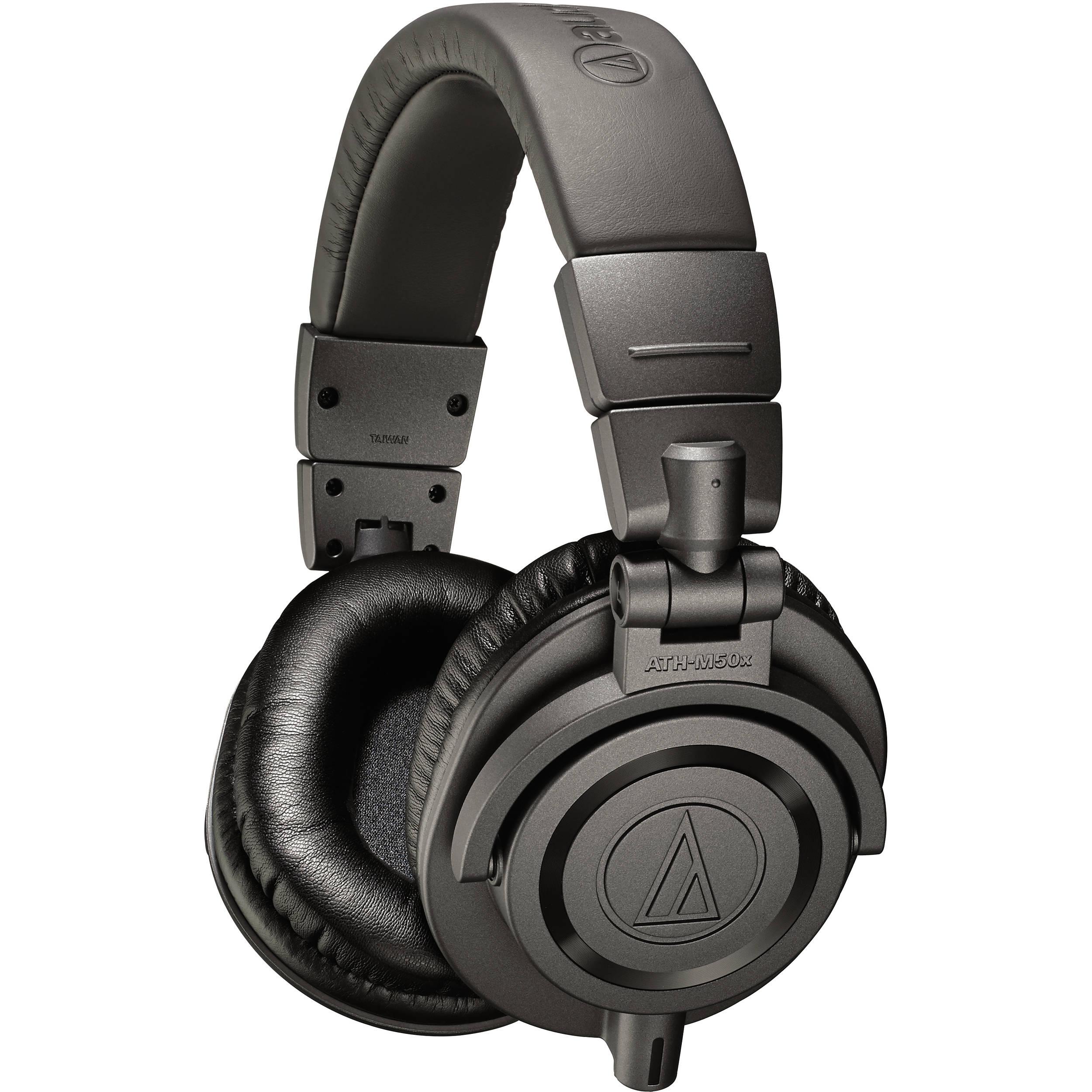 Audio-Technica ATH-M50x - top 5 best studio headphones