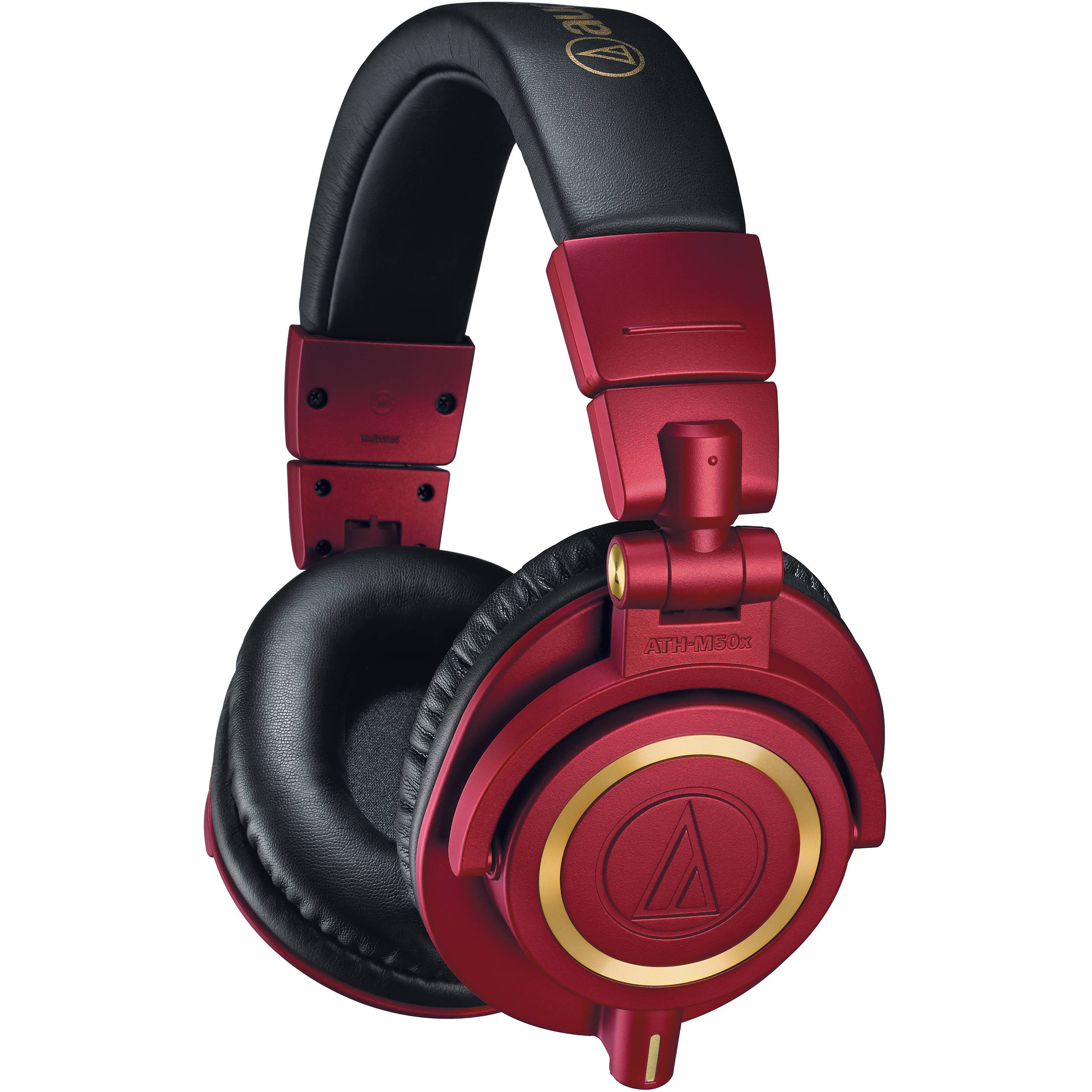audio technica ath m50x monitor headphones ath m50xrd b h. Black Bedroom Furniture Sets. Home Design Ideas