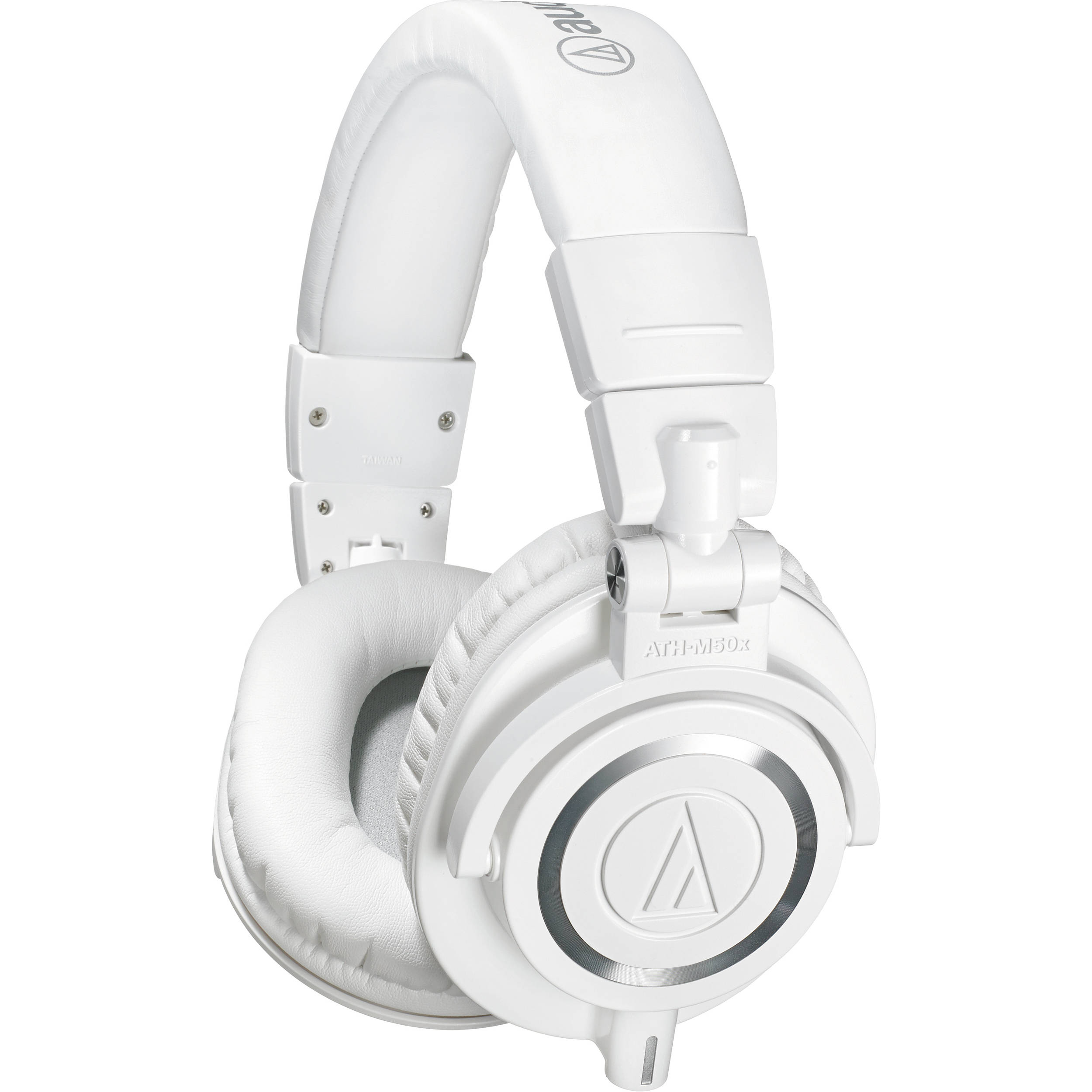 Audio-Technica ATH-M50x Monitor Headphones (White) ATH-M50XWH