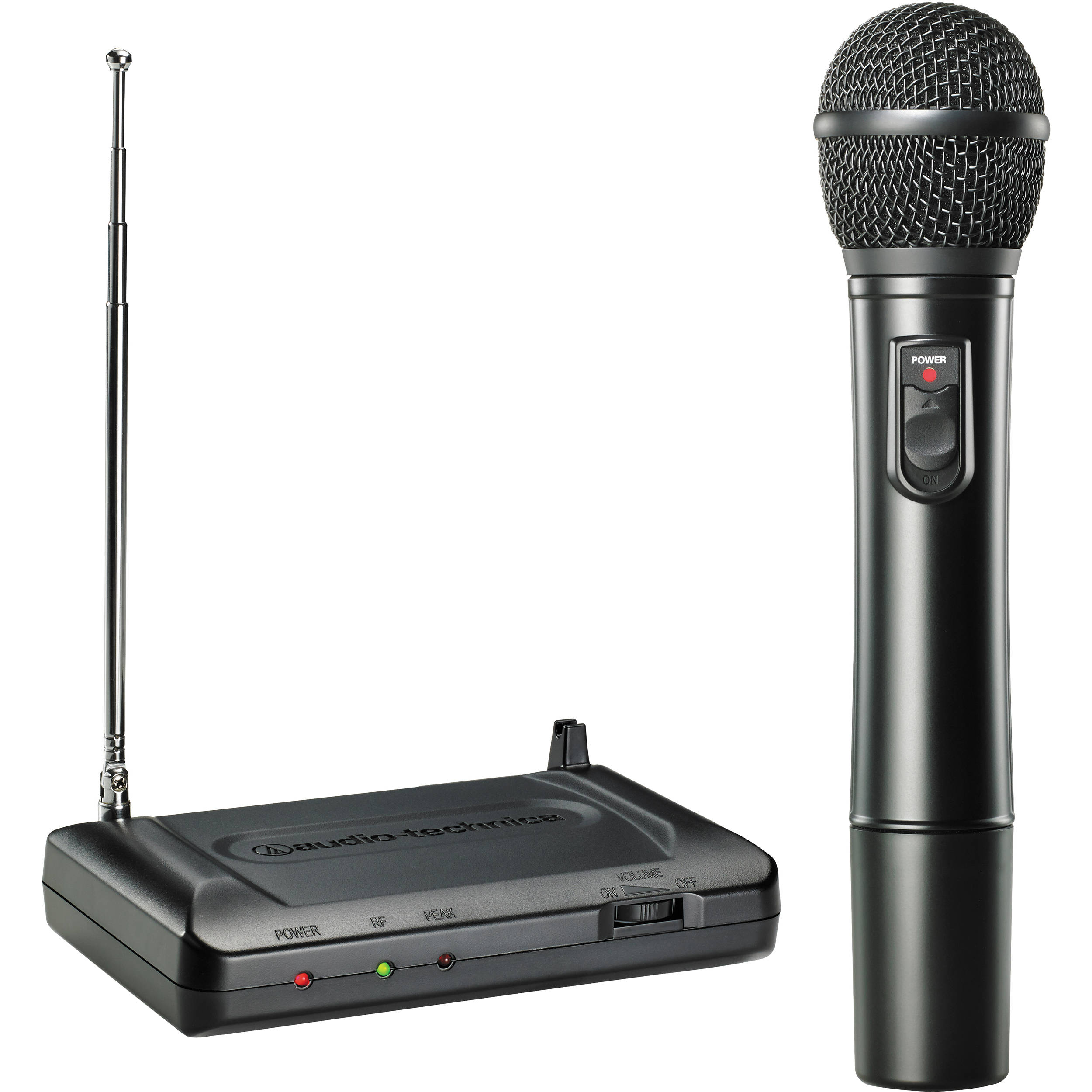 audio technica consumer atr7200 vhf wireless handheld atr7200 t8. Black Bedroom Furniture Sets. Home Design Ideas