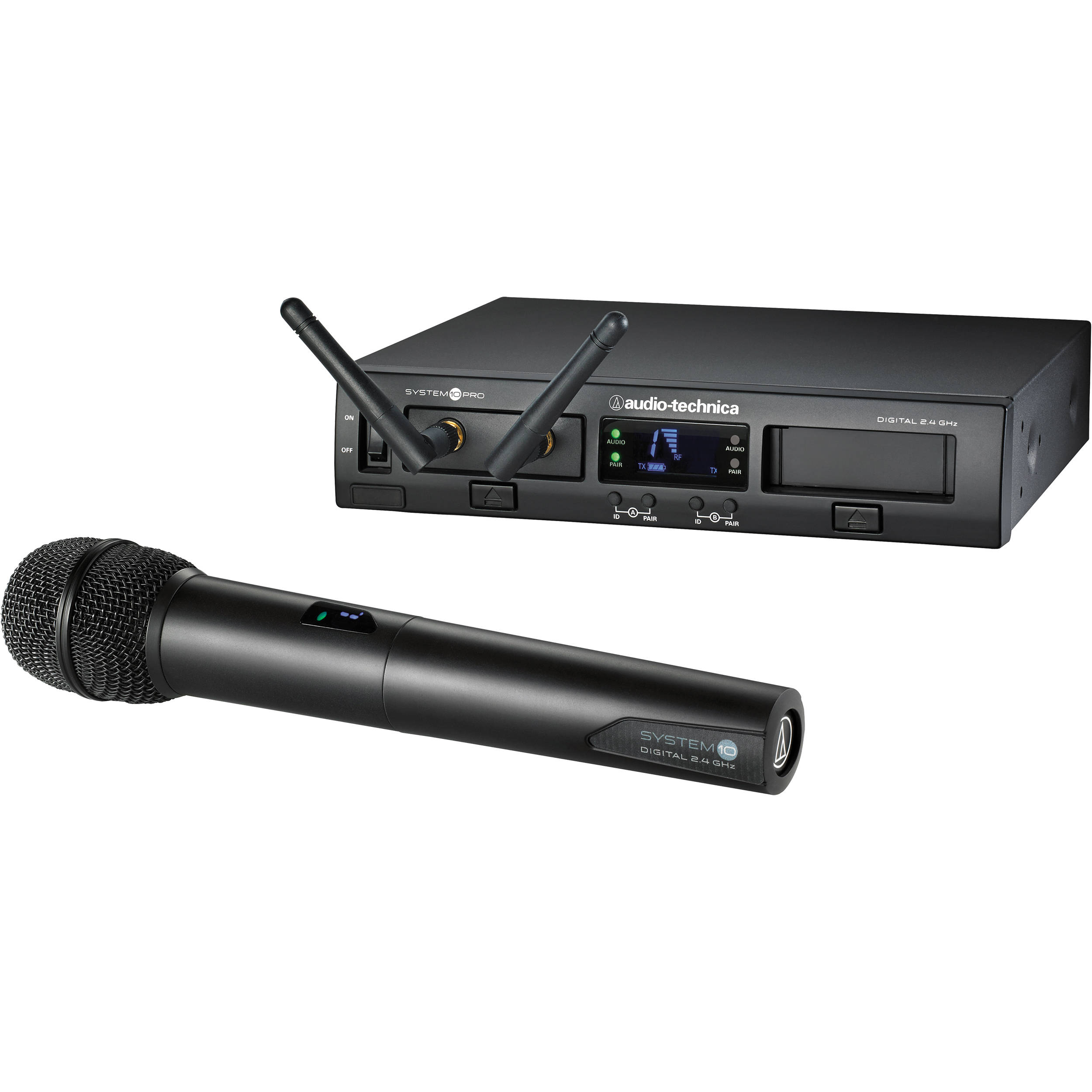 Audio-Technica ATW-1302 System 10 PRO Rack-Mount Digital Handheld Mic System