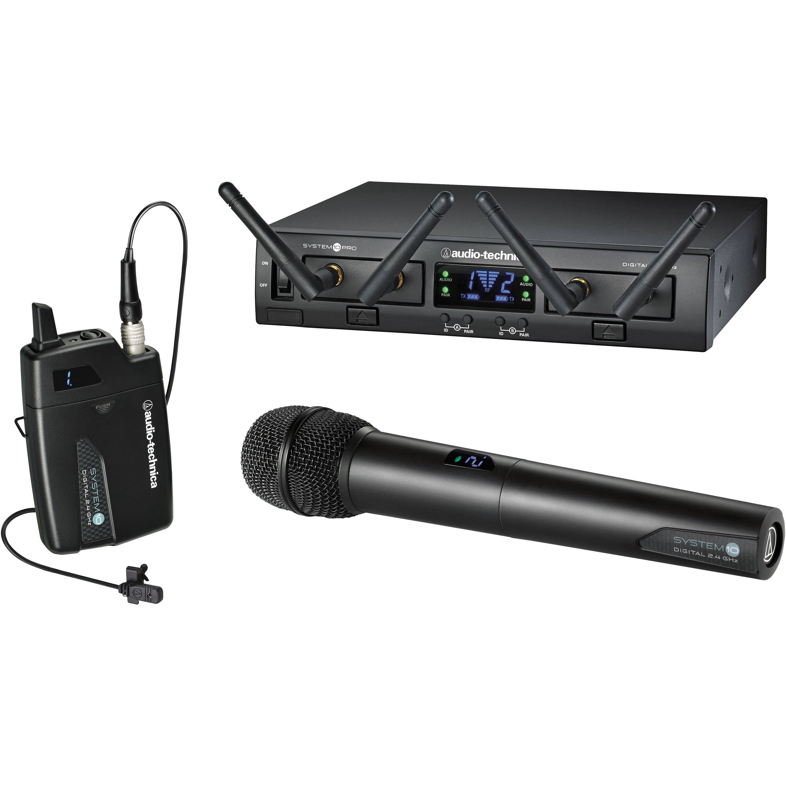 Wireless Microphone Audio Technica Atw R2100 Wire Center Details For Painless Wiring 80512 Heavy Duty Toggle Switch On Off Microphones B H Photo Video Rh Bhphotovideo Com System