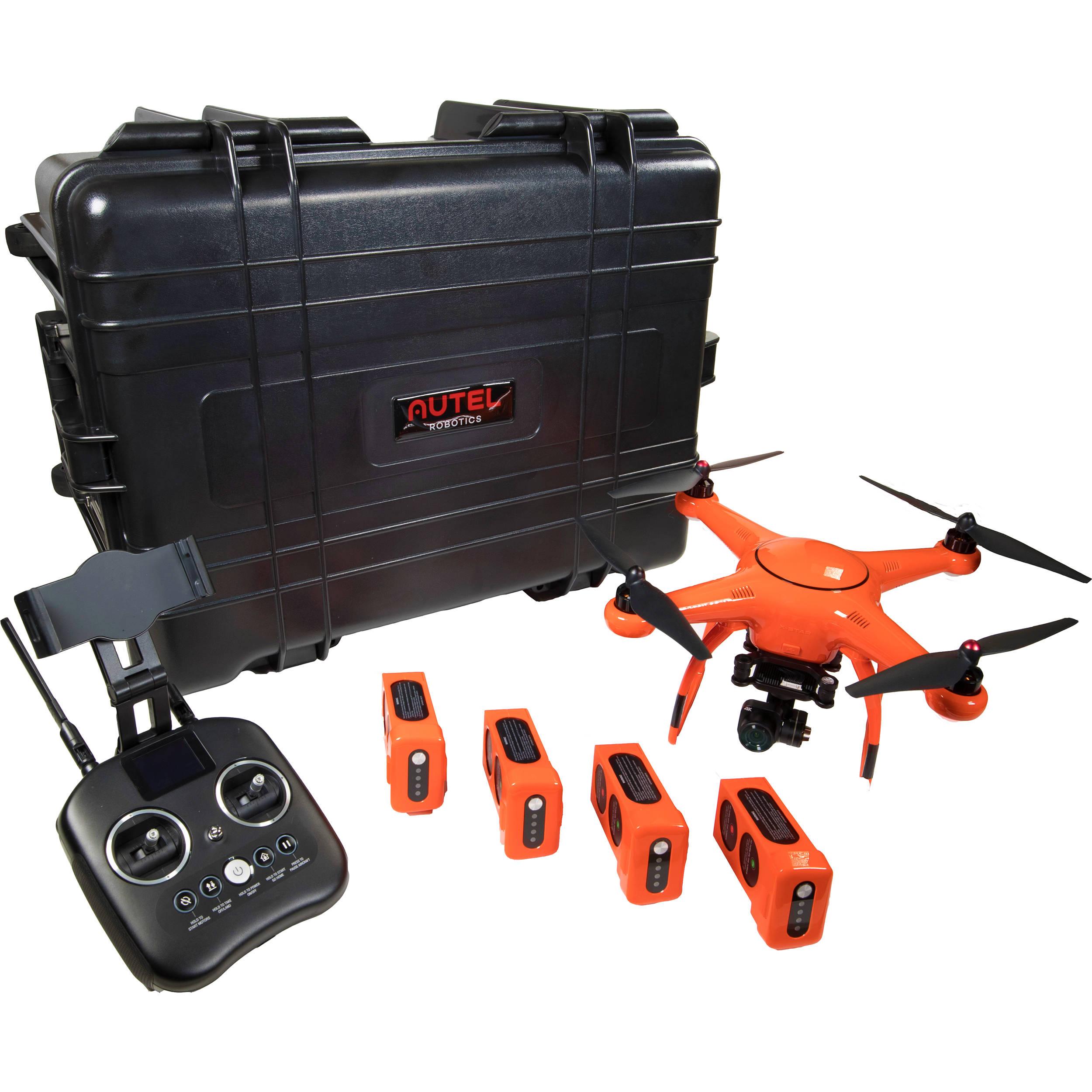 Autel Robotics X Star Premium Rugged Bundle Xsprmrugor B H Photo