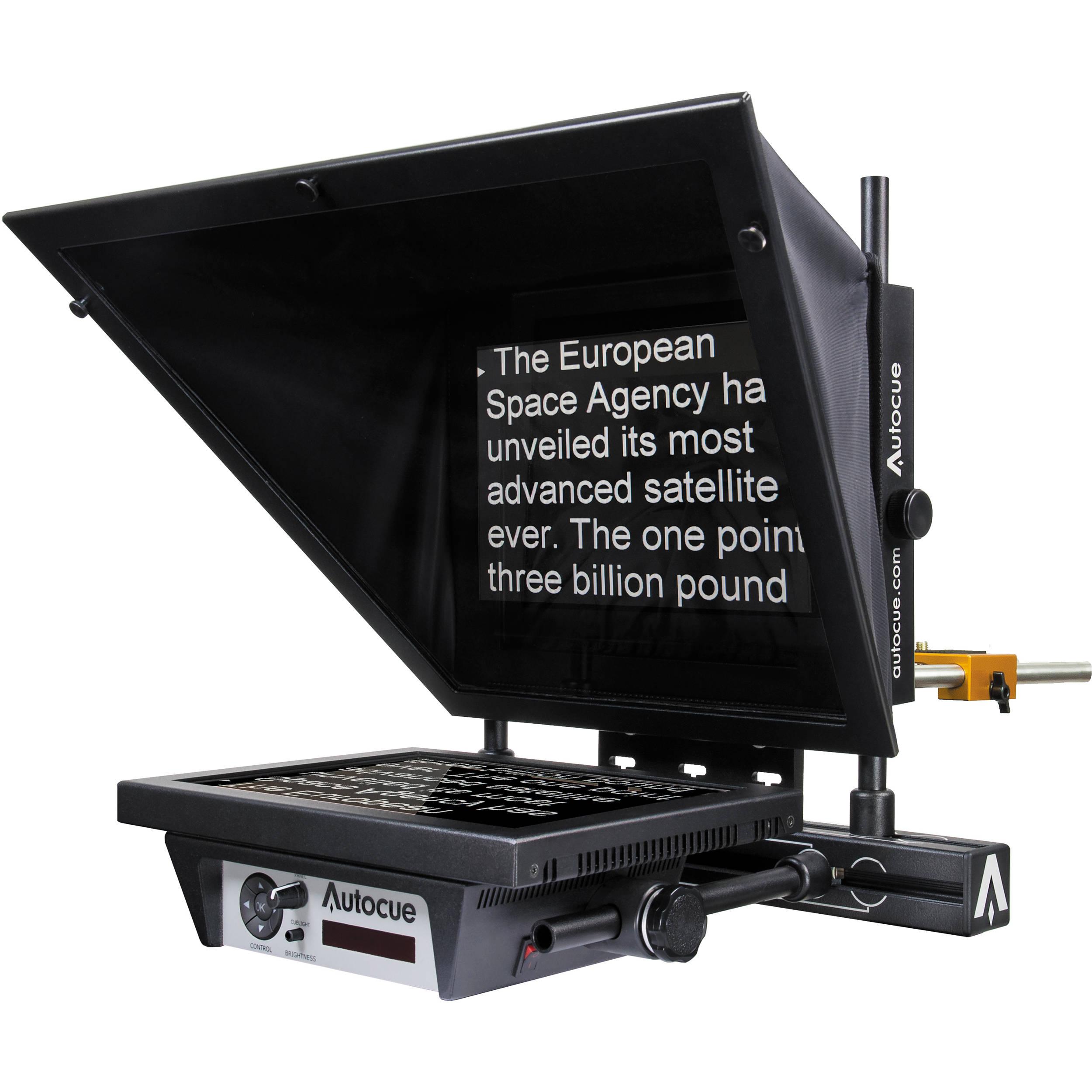 autocue qtv msp12 master series 12 prompter ocu msp12fhgp