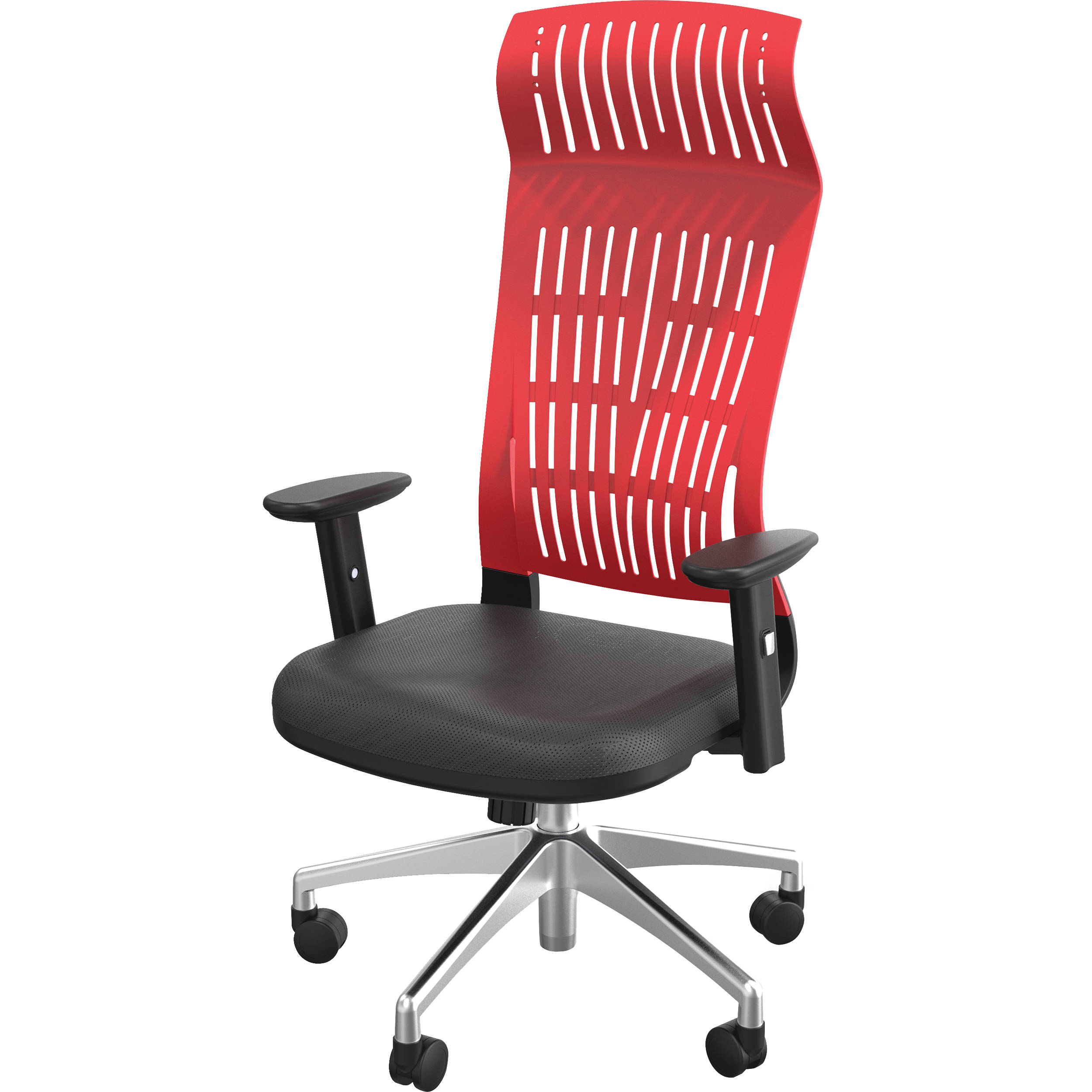 Balt Fly High Back Office Chair With Adjustable Arms Red 34747