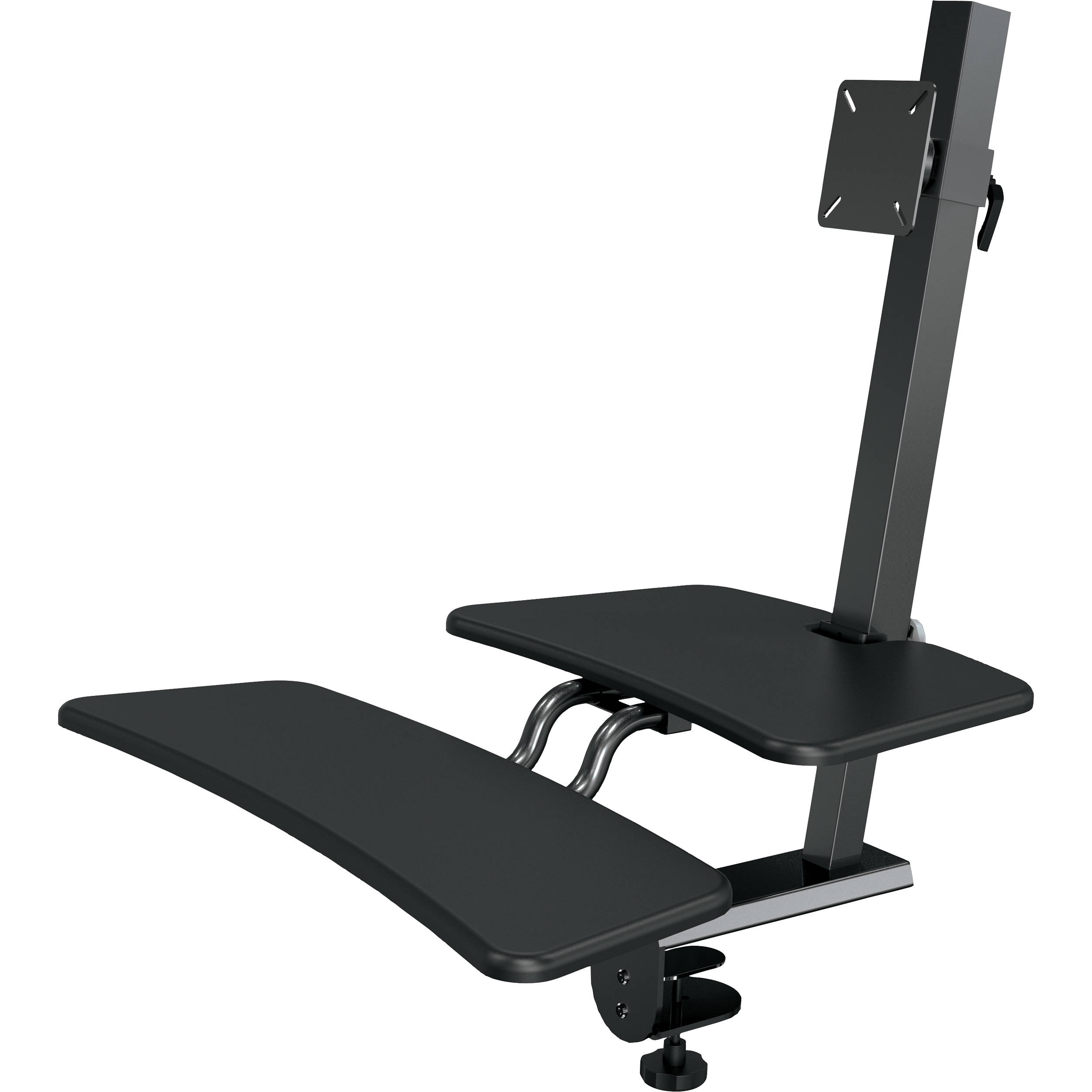 Balt Up Rite Desk Mounted Sit And Stand Workstation 90530 B Amp H