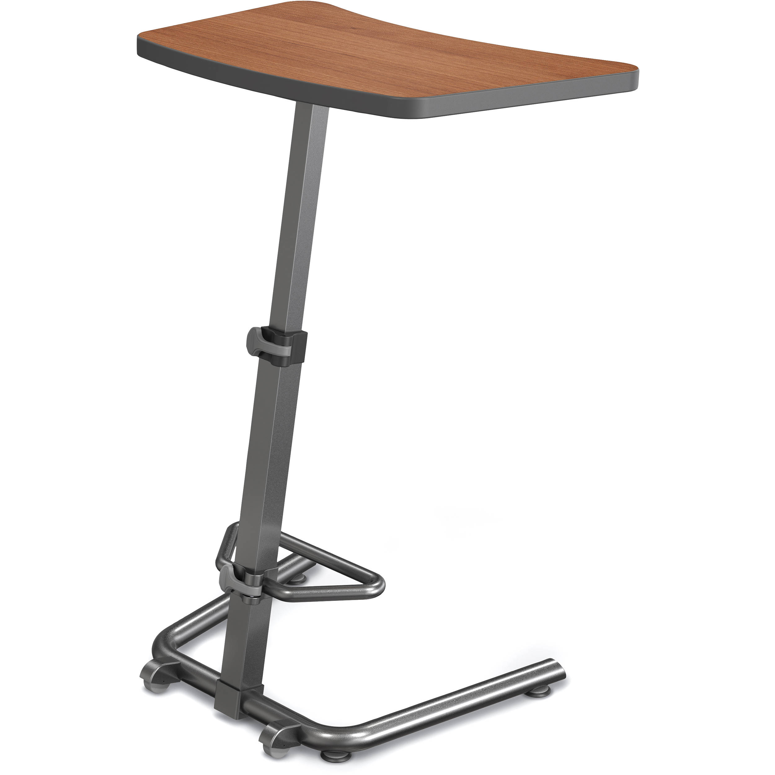 standing hand h desk crank w itm and frame titan stand manual adjustable sit