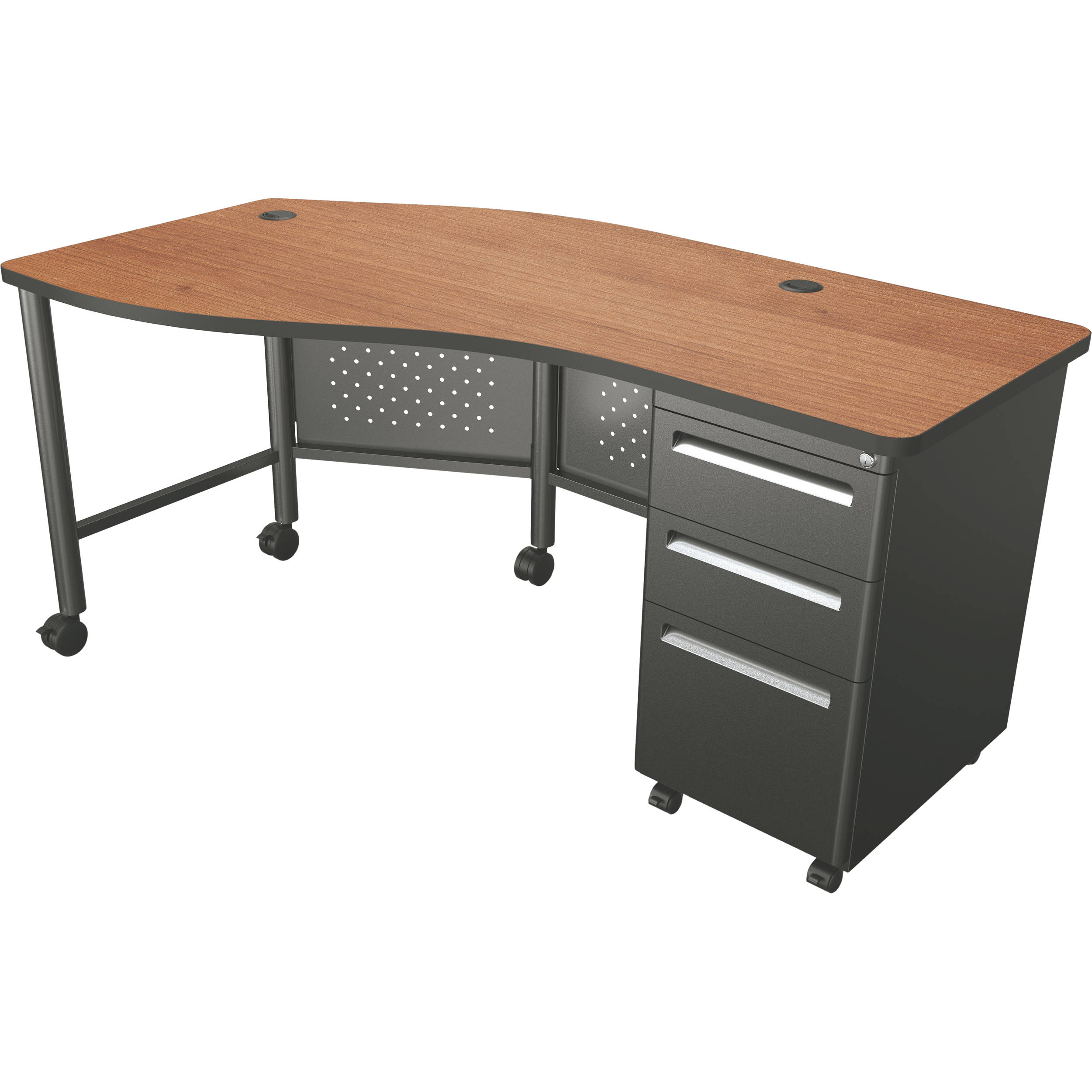Balt Instructor Teacher's Desk Ii (cherry) 90590 B&h Photo. Table Cover With Logo. Sit Stand Office Desk. Unfinished Table Top. Best Office Desk Setup. Chair Side Tables. Desk Lock. Sears Workbench With Drawers. Children's Desk With Drawers
