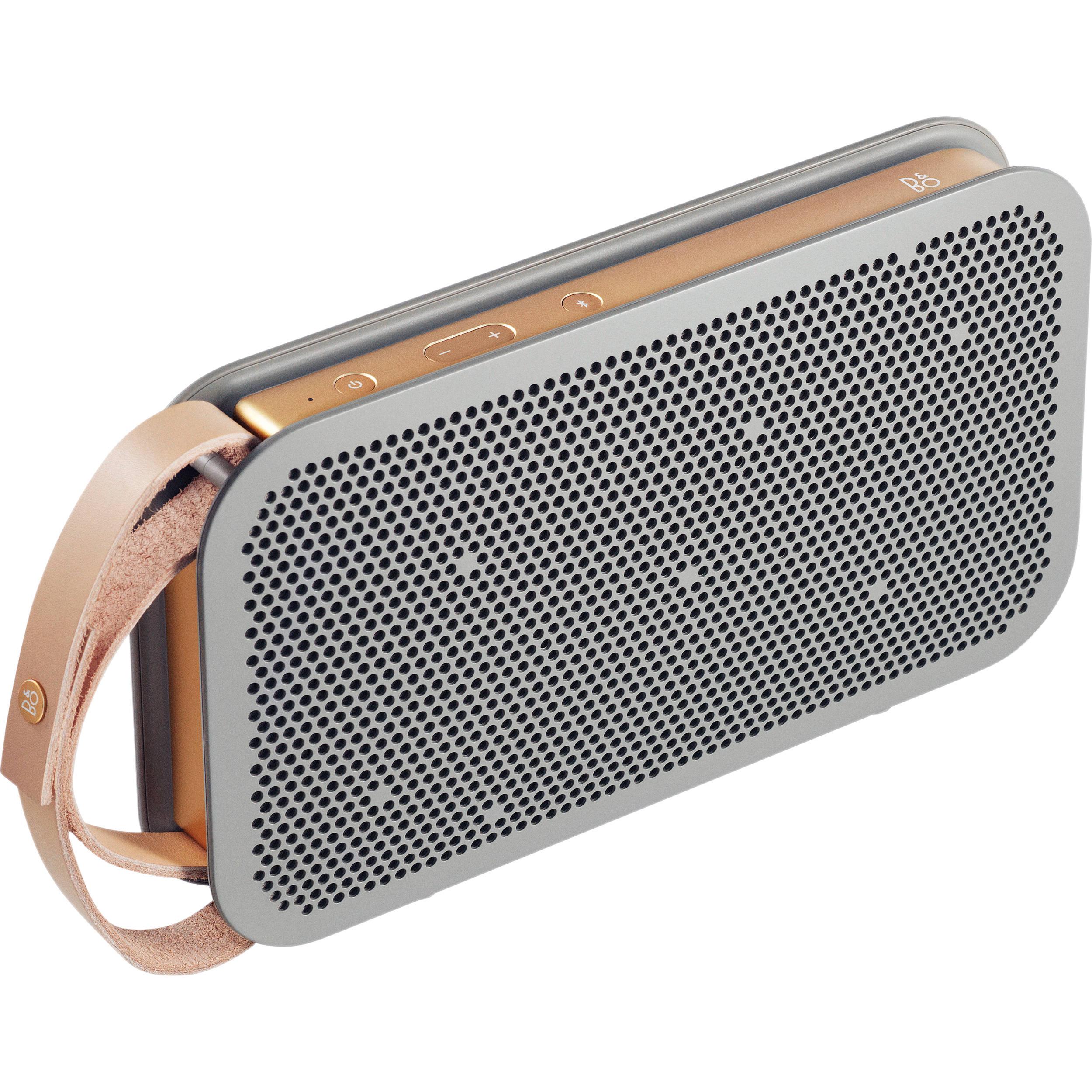 b o play b o play a2 bluetooth speaker gray 1290935