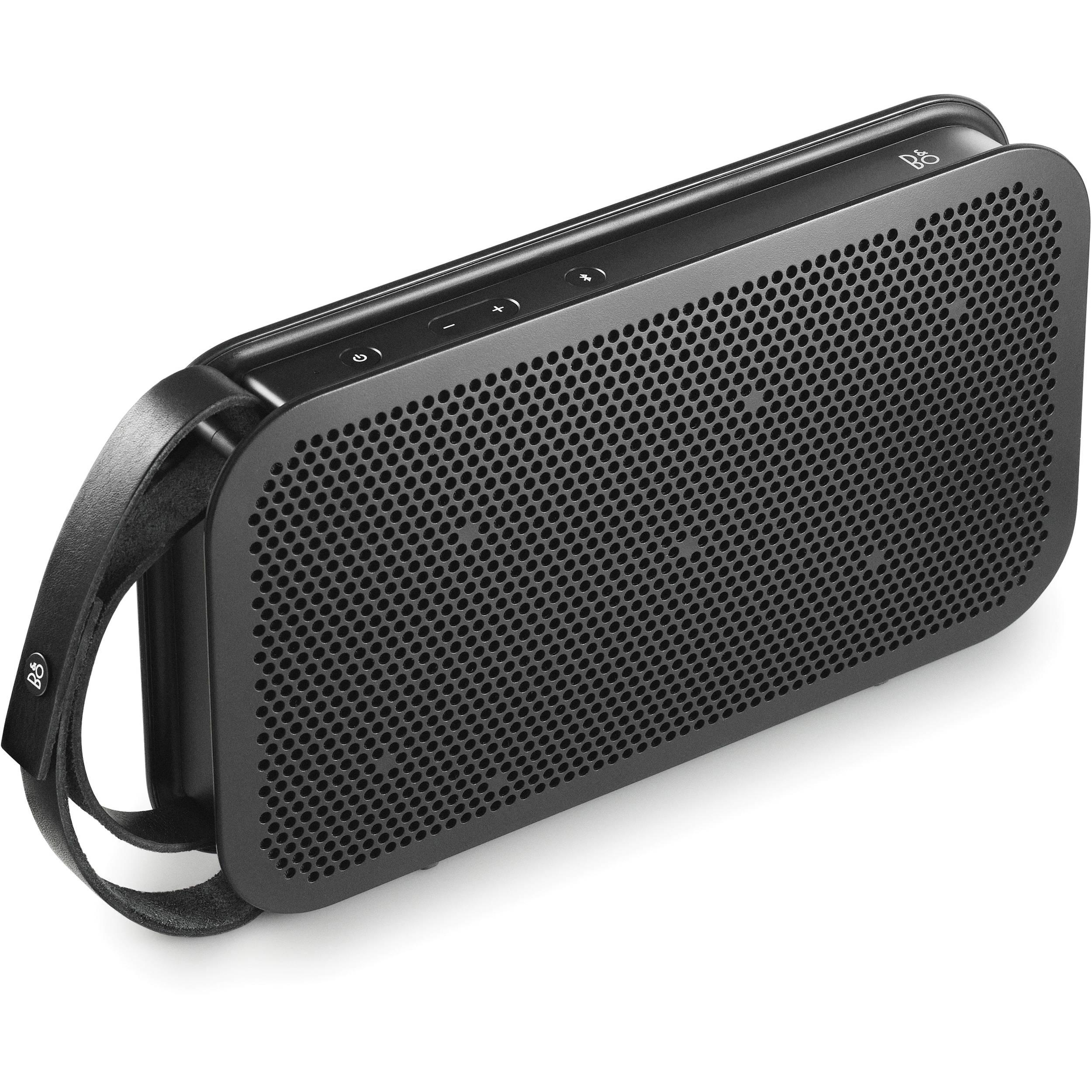 b o play b o play a2 bluetooth speaker black 1290937. Black Bedroom Furniture Sets. Home Design Ideas