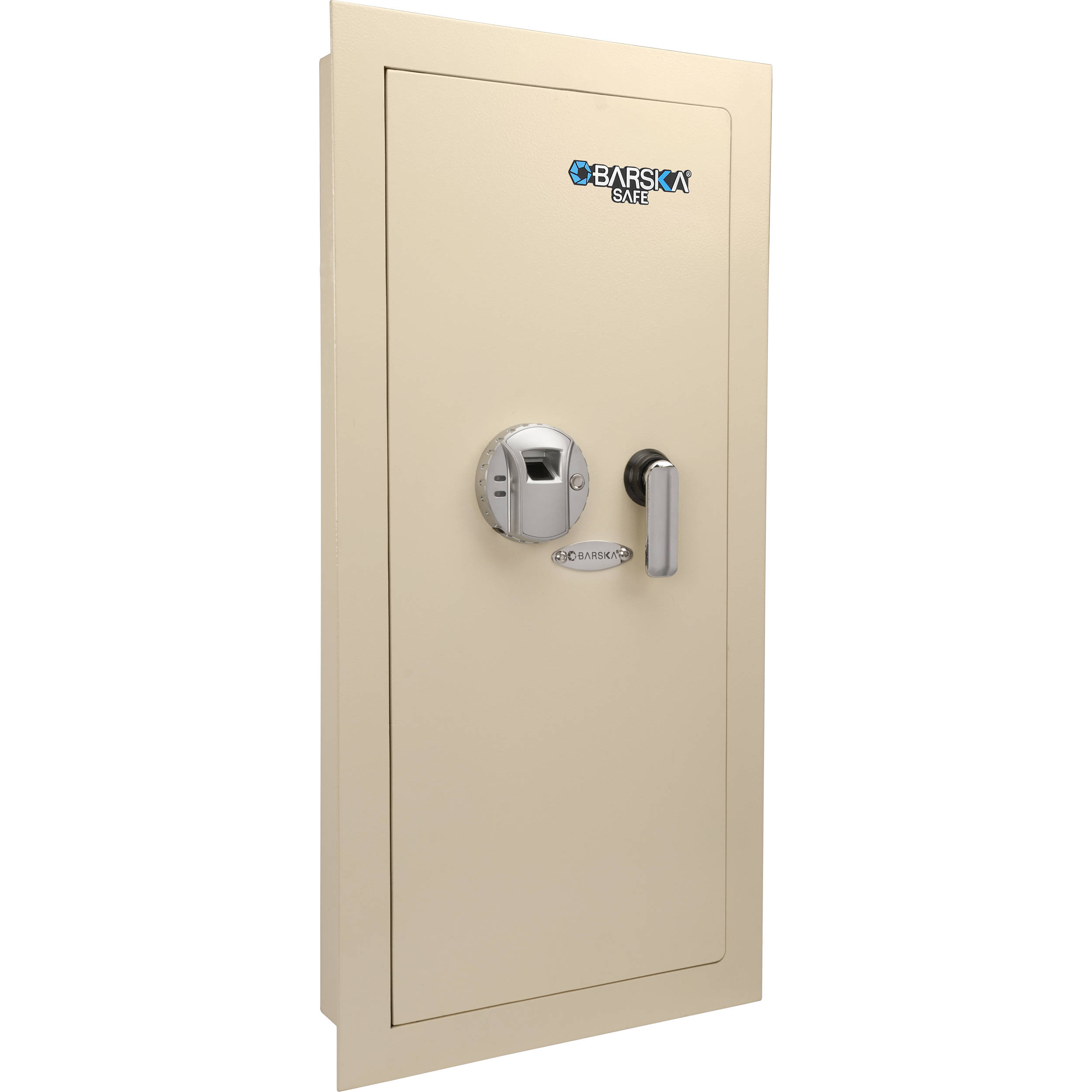 Barska Large Biometric Wall Safe Left Opening Ax12880 B Amp H