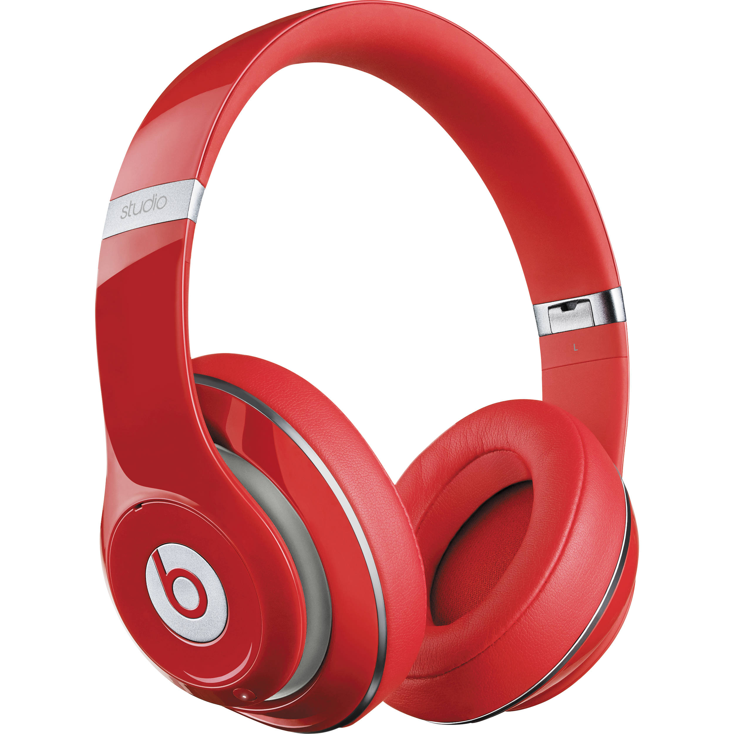 beats by dr dre studio wireless headphones red mh8k2am. Black Bedroom Furniture Sets. Home Design Ideas