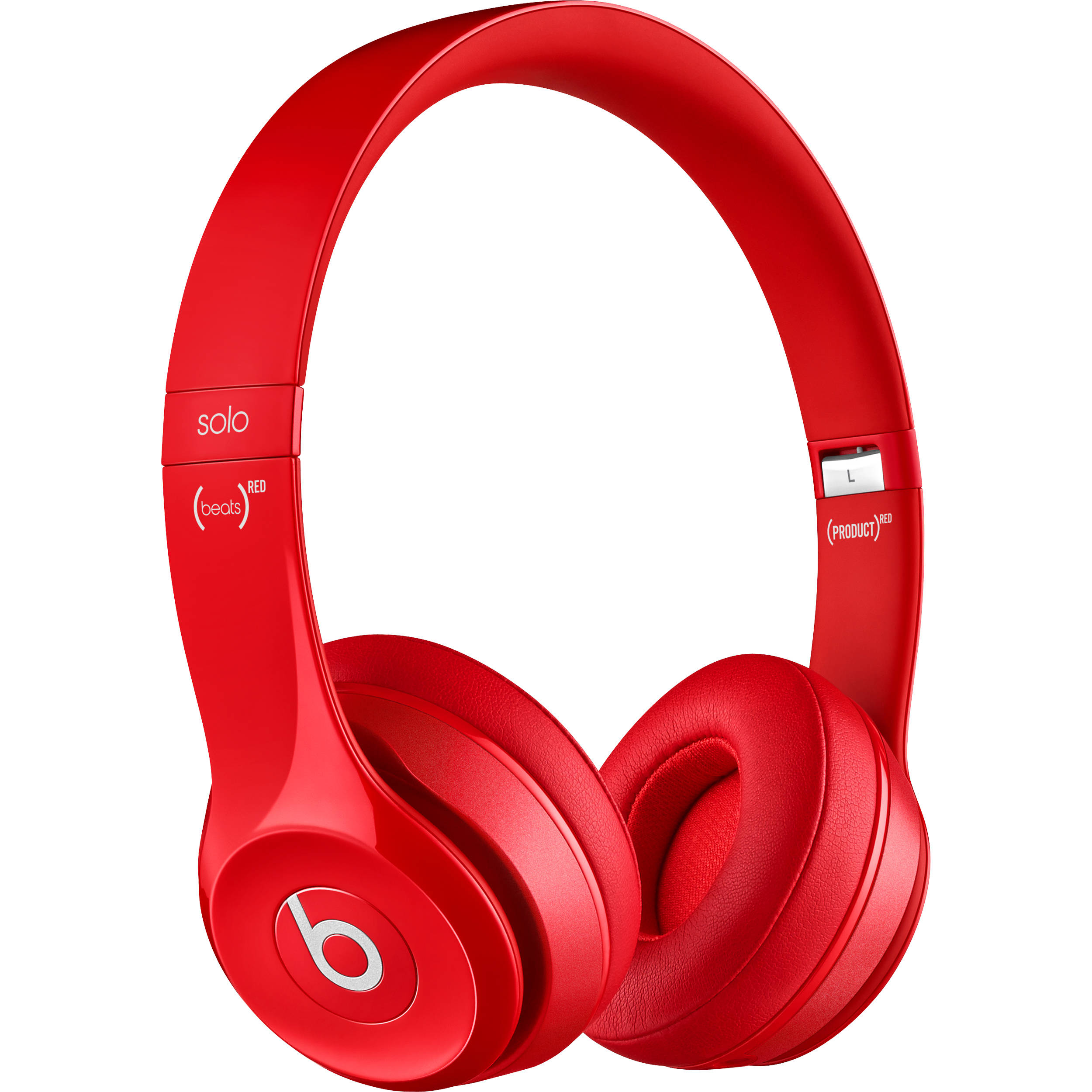 Beats By Dr Dre Solo2 Wired On Ear Headphones Red Mh8y2am A