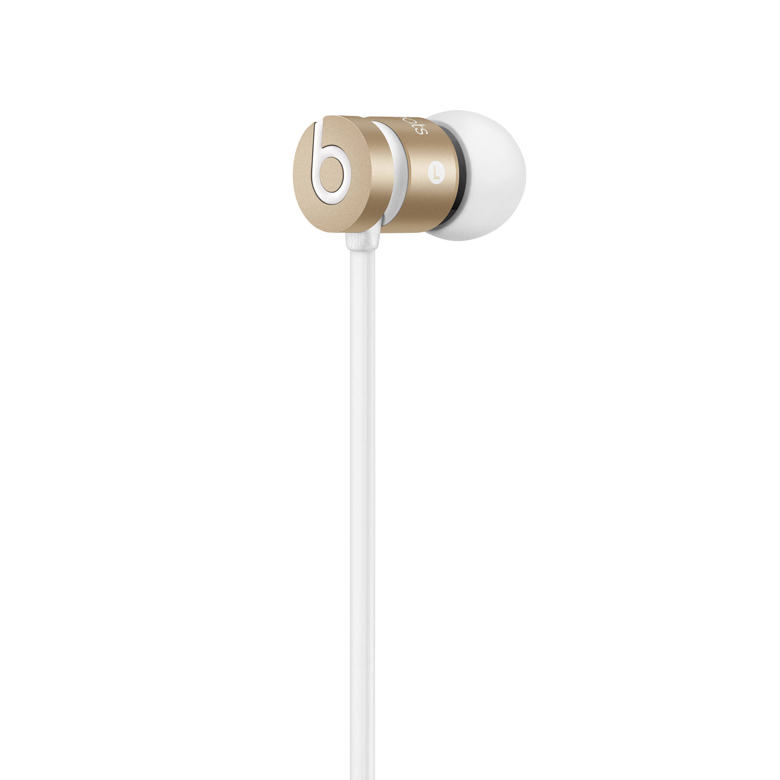 beats by dr dre urbeats in ear headphones gold mk9x2am. Black Bedroom Furniture Sets. Home Design Ideas