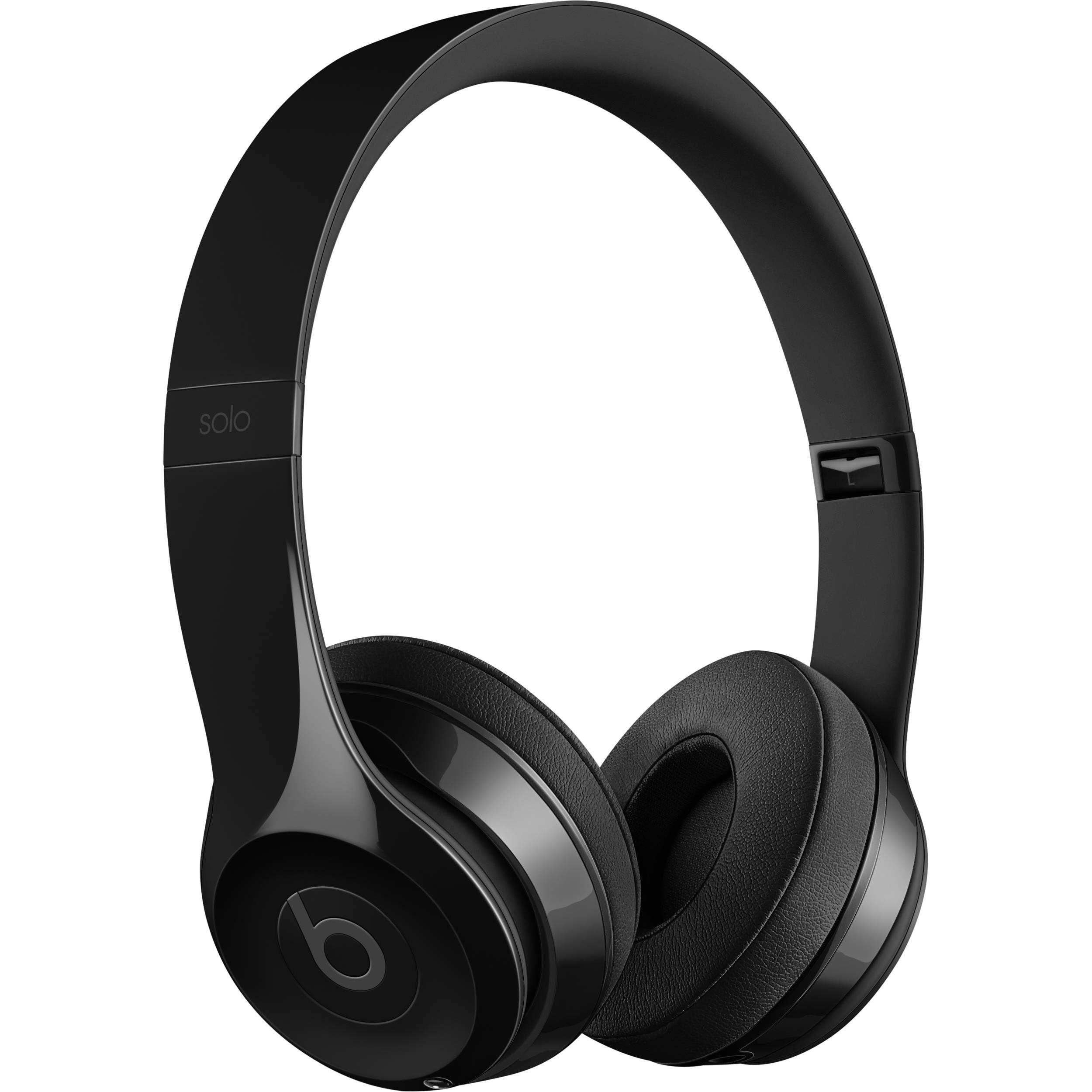 Beats by Dr. Dre Beats Solo3 Wireless On-Ear Headphones (Gloss Black / Core)