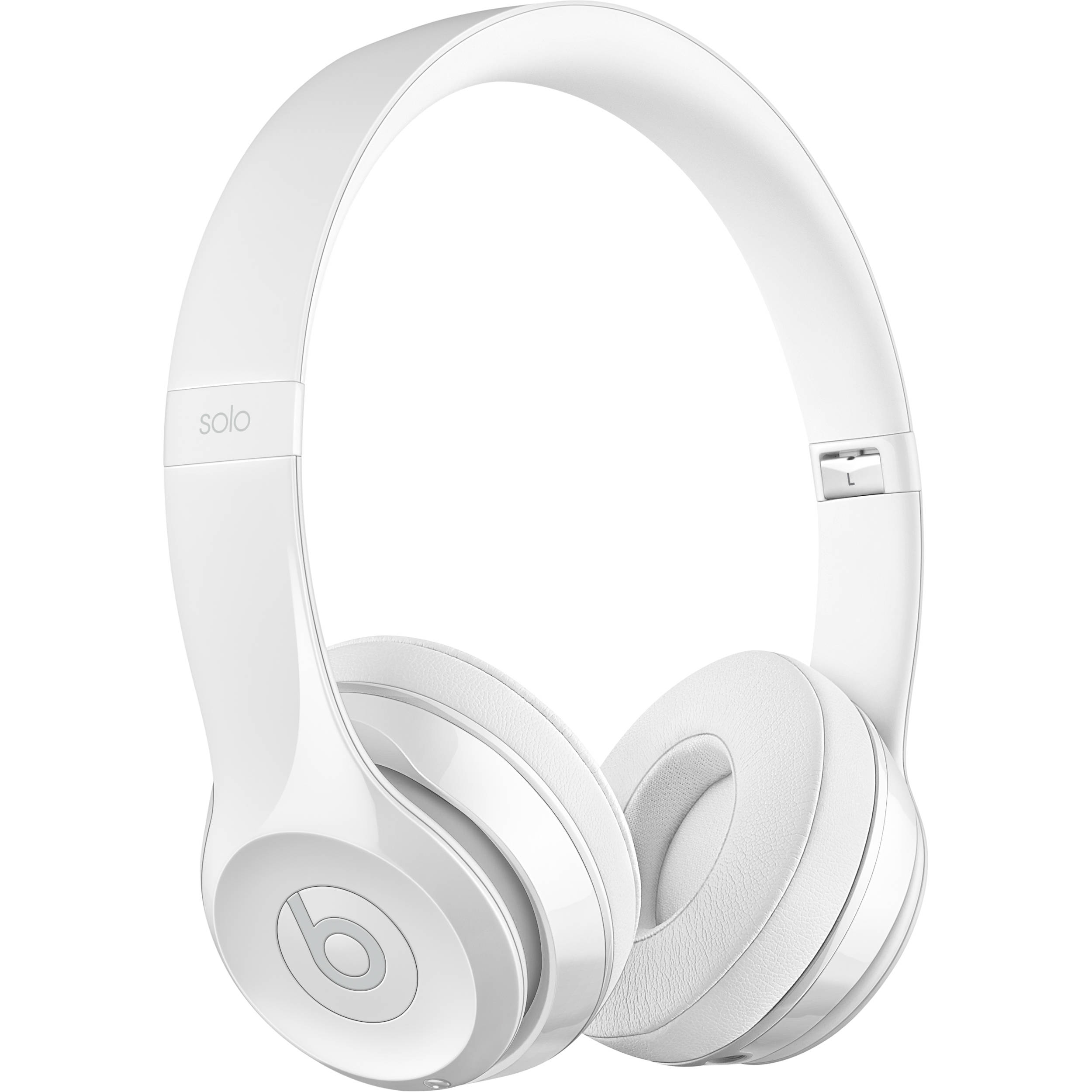 Beats by Dr. Dre Beats Solo3 Wireless On-Ear Headphones (Gloss White / Core)