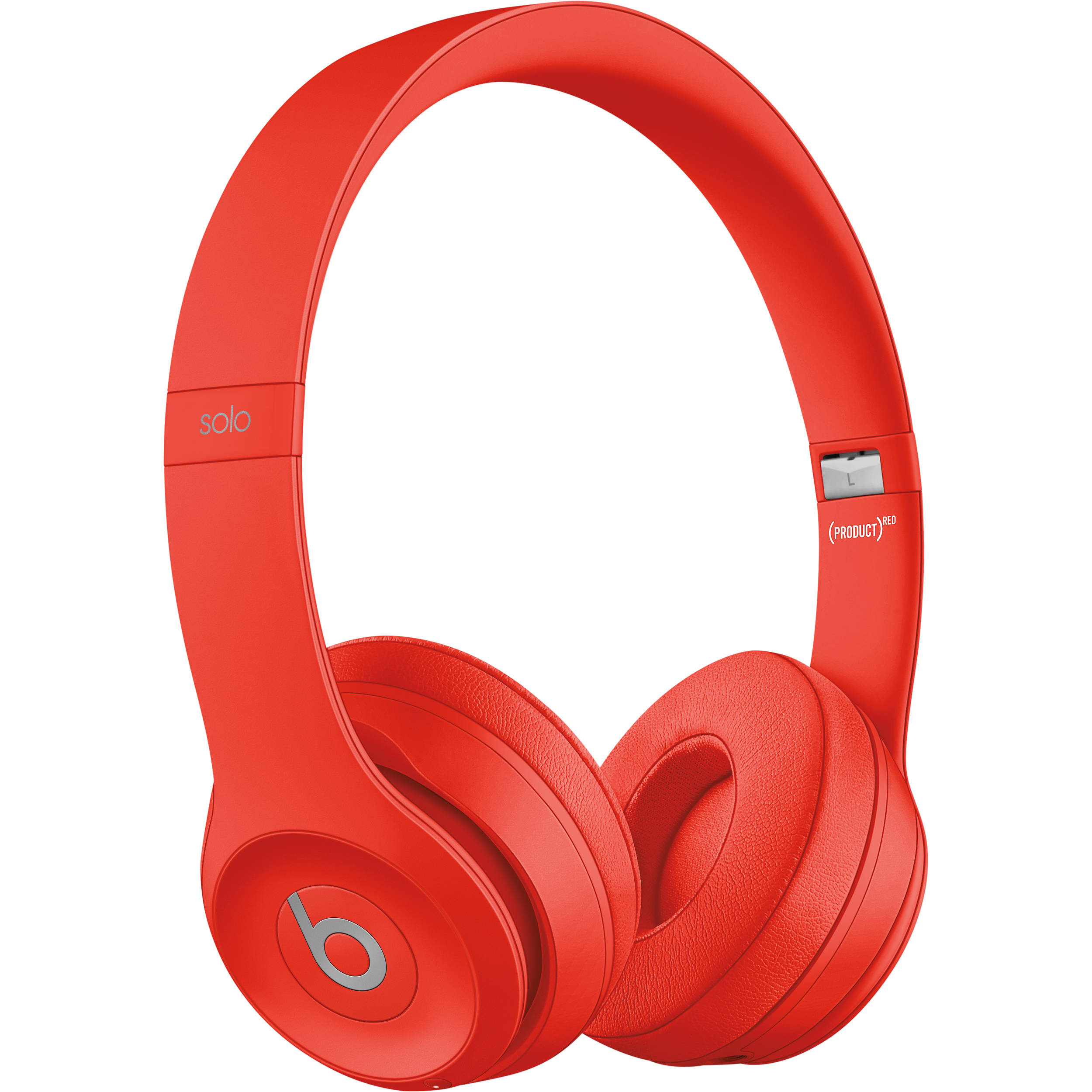Beats by Dr. Dre Beats Solo3 Wireless On-Ear Headphones (Red / Core)