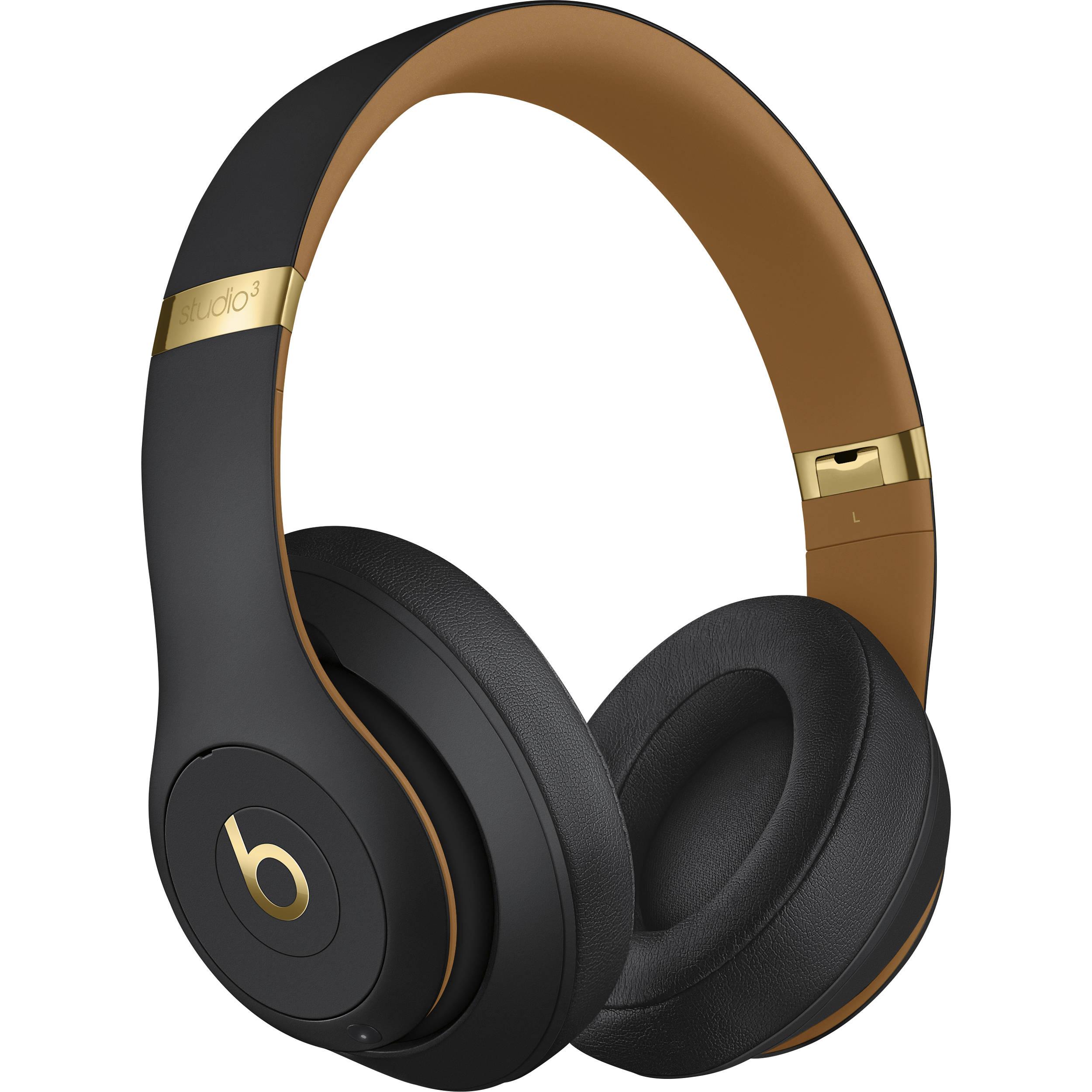 Beats by Dr. Dre Studio3 Wireless Bluetooth Headphones (Midnight Black / Skyline Collection)