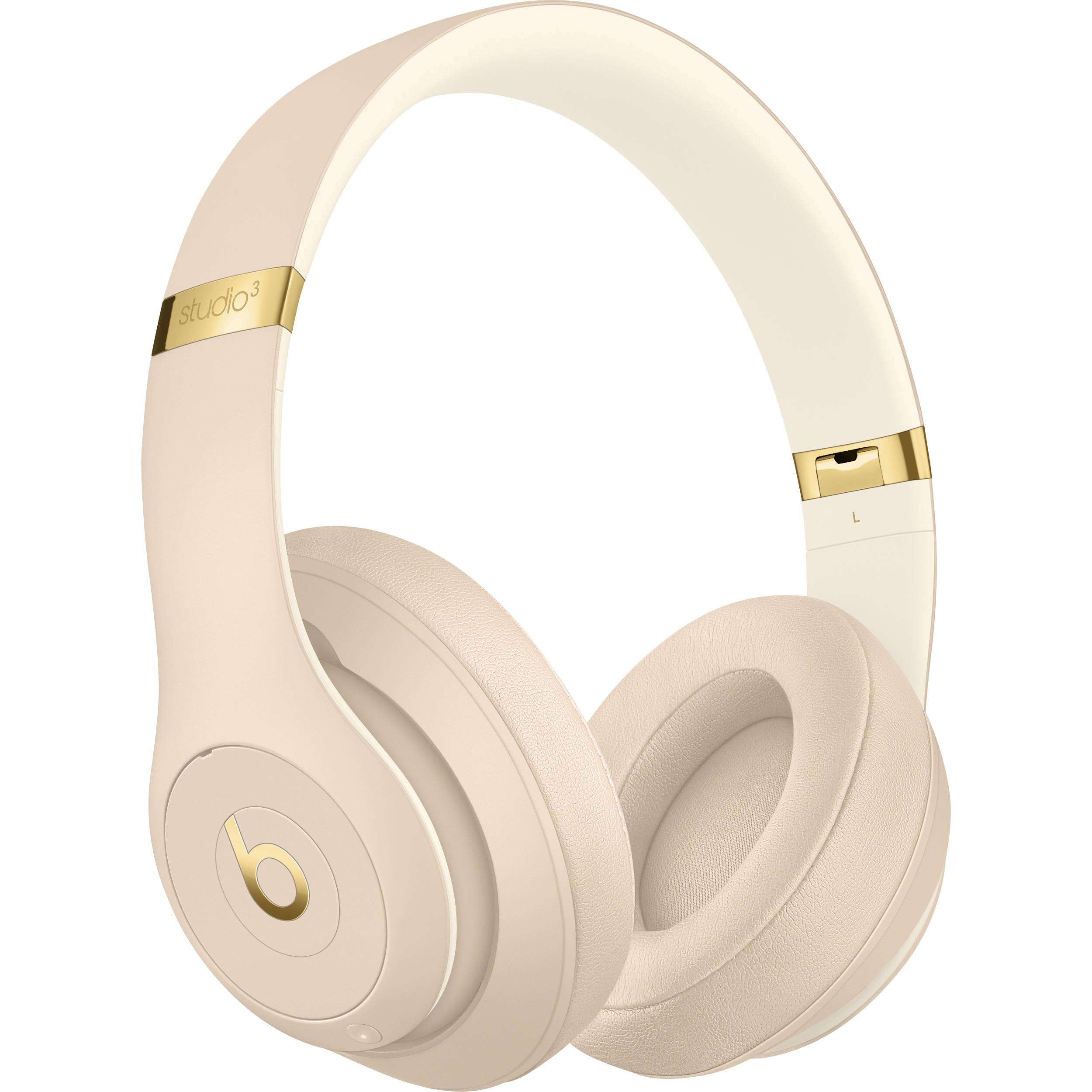 Beats by Dr. Dre Studio3 Wireless Bluetooth Headphones (Desert Sand / Skyline Collection)