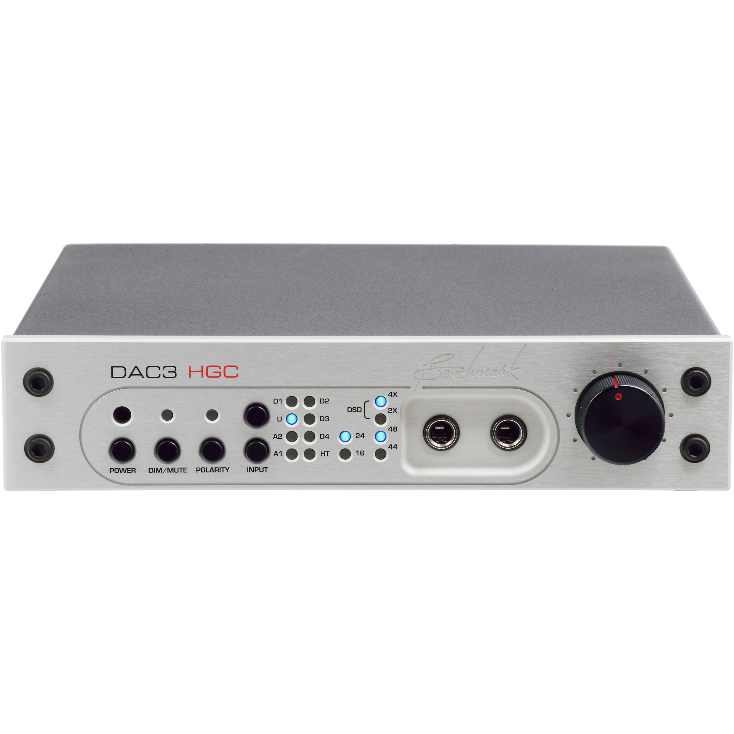 Benchmark Dac3 Hgc Reference Dac And Stereo Preamp 500 14800 131 Ra53 Headphone Amplifier Connection Schematic With Hpa2 Silver