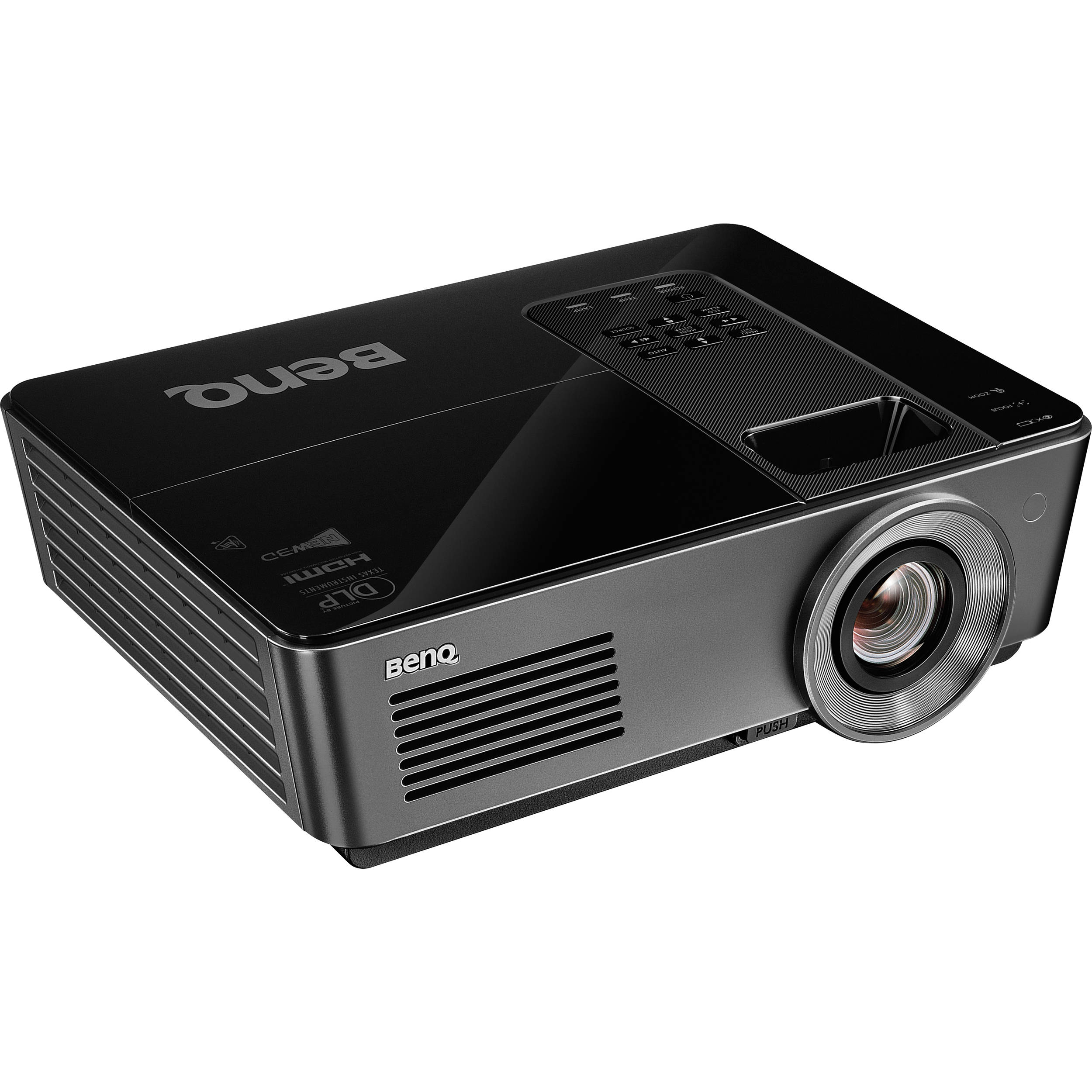 Benq hc1200 colorific full hd 1080p dlp projector hc1200 b h for Hd projector